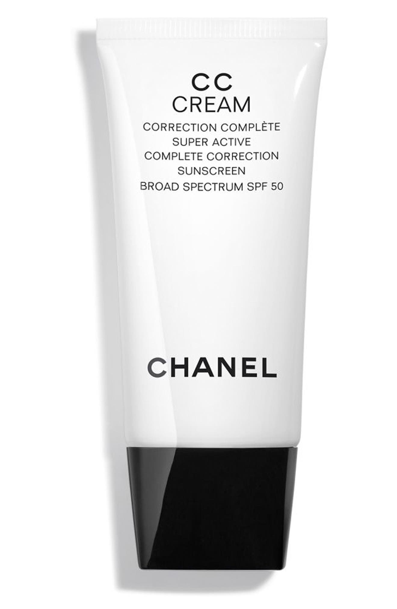 CHANEL, CC CREAM Super Active Correction Complete Sunscreen SPF 50, Main thumbnail 1, color, BEIGE 10