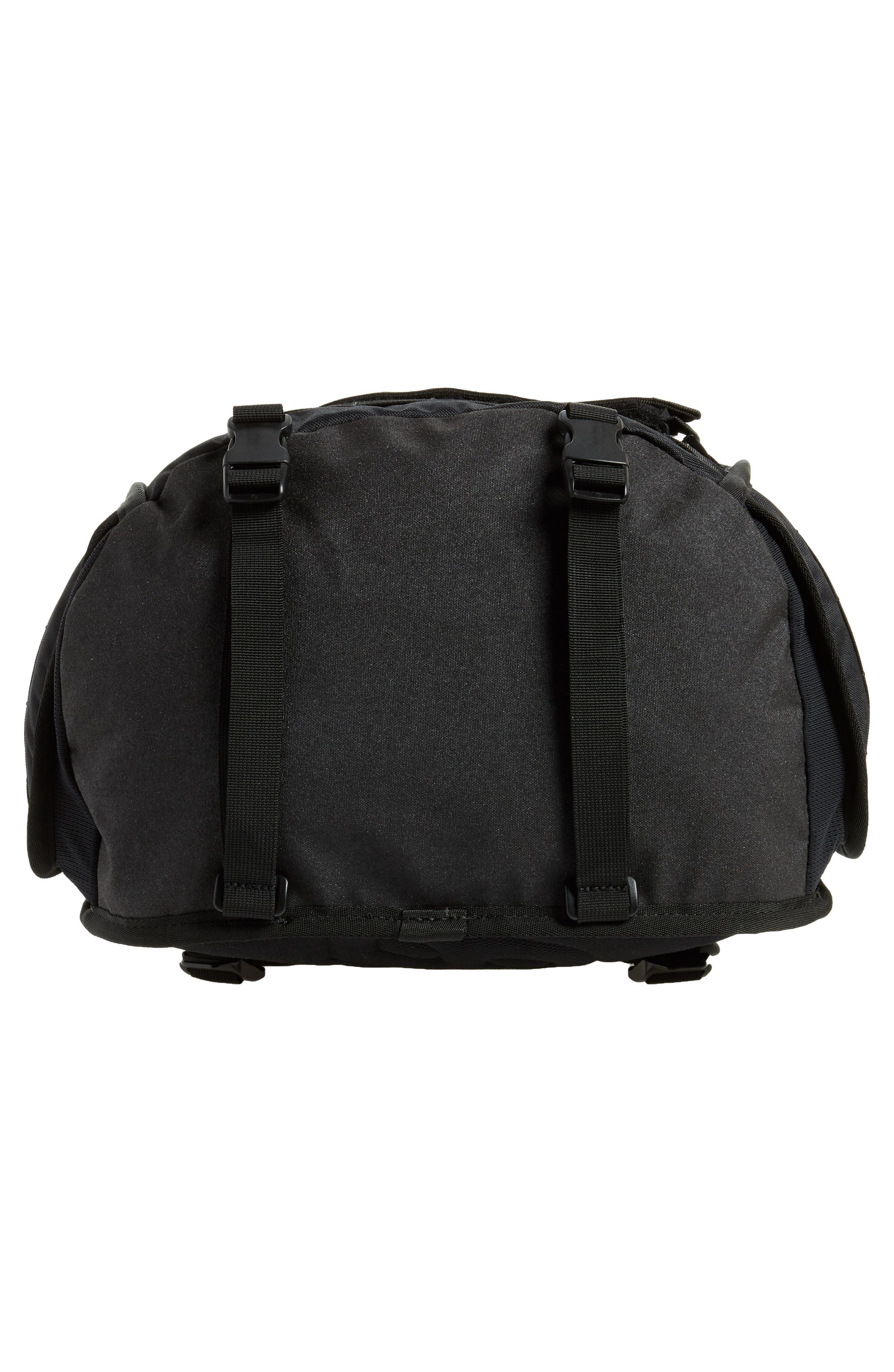 NIKE SB, RPM Backpack, Alternate thumbnail 7, color, BLACK/ BLACK/ BLACK