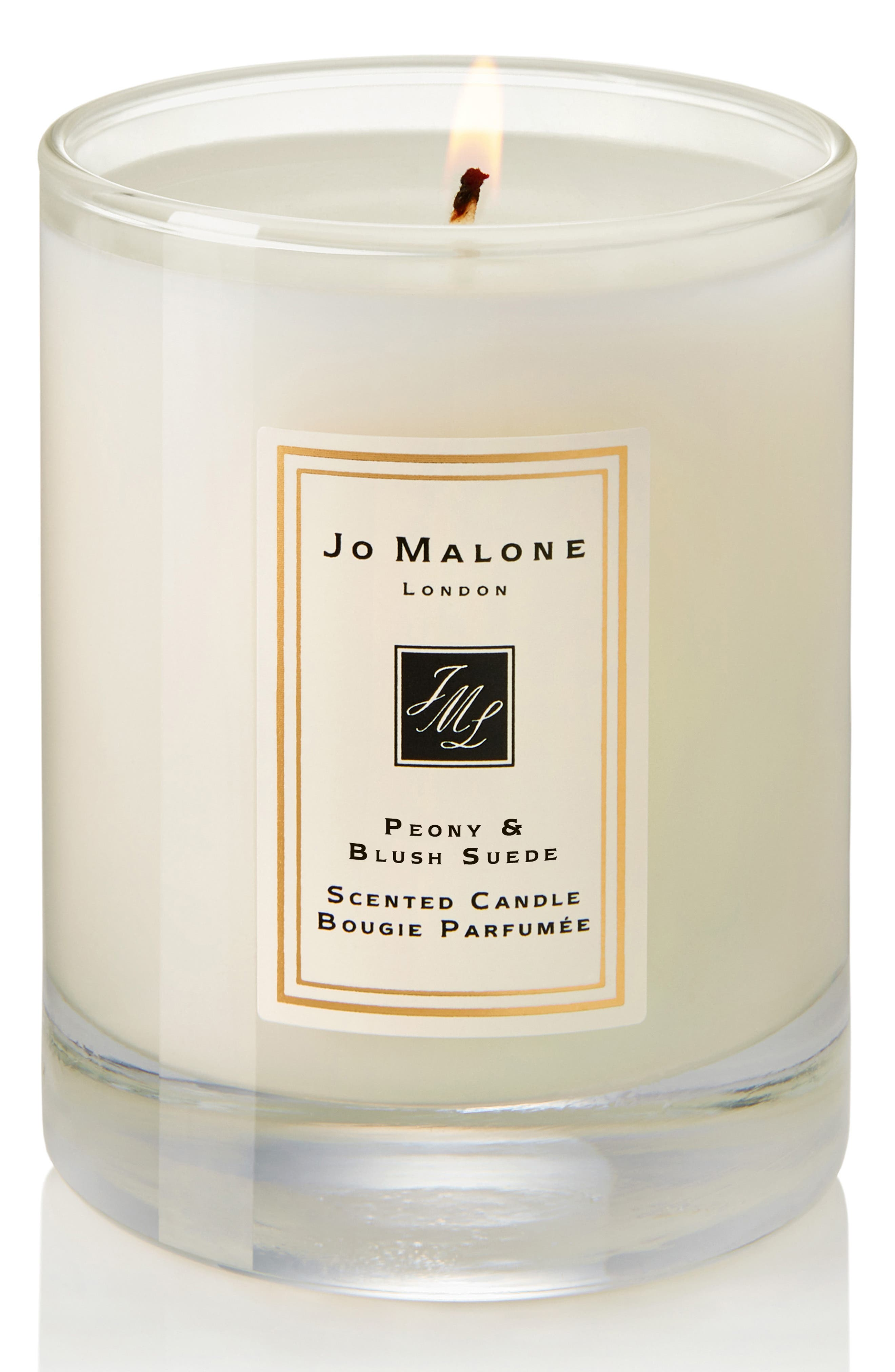 JO MALONE LONDON<SUP>™</SUP>, Peony & Blush Suede Travel Candle, Alternate thumbnail 3, color, NO COLOR
