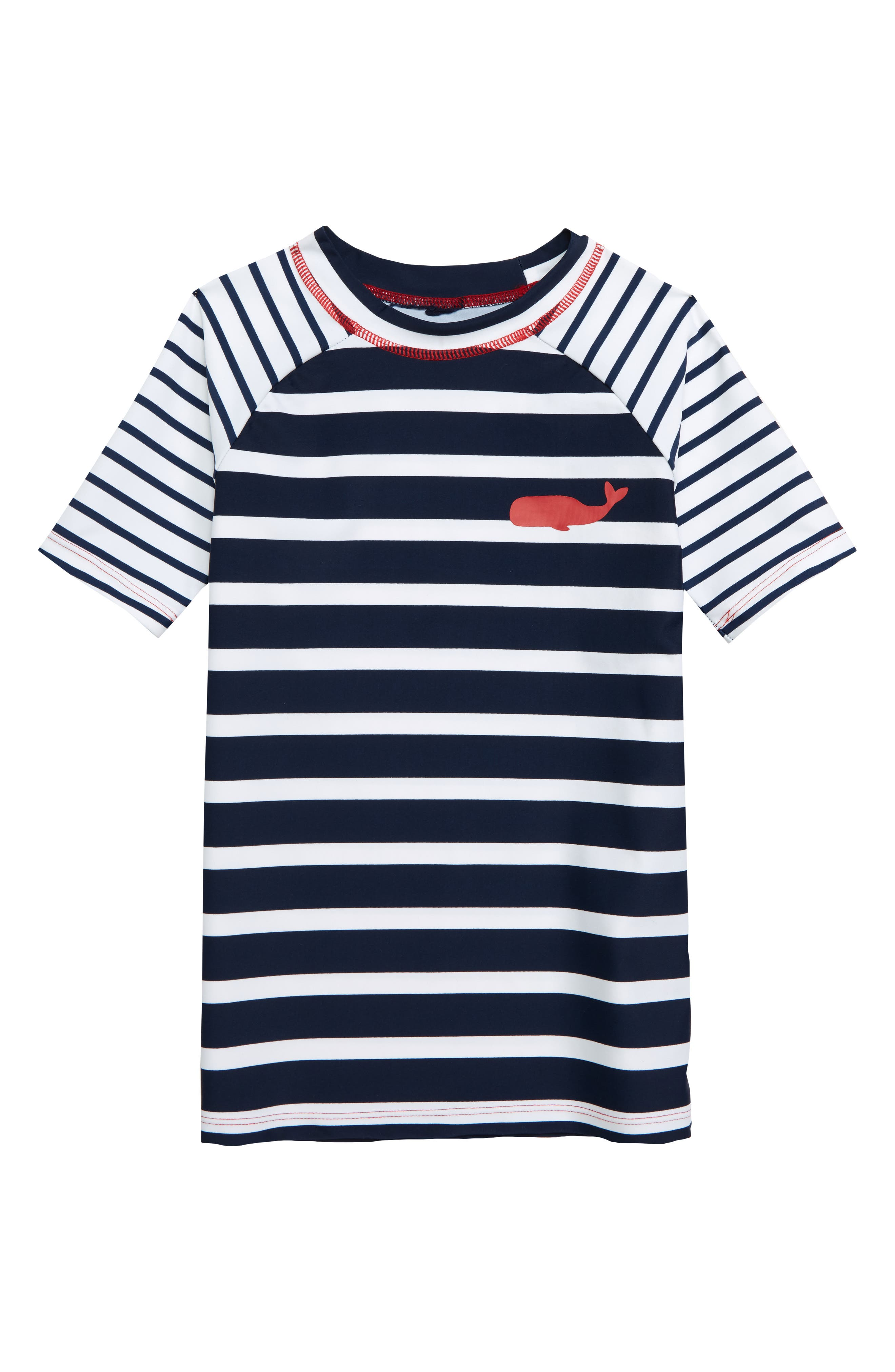 HATLEY Stripe Rashguard, Main, color, BLUE