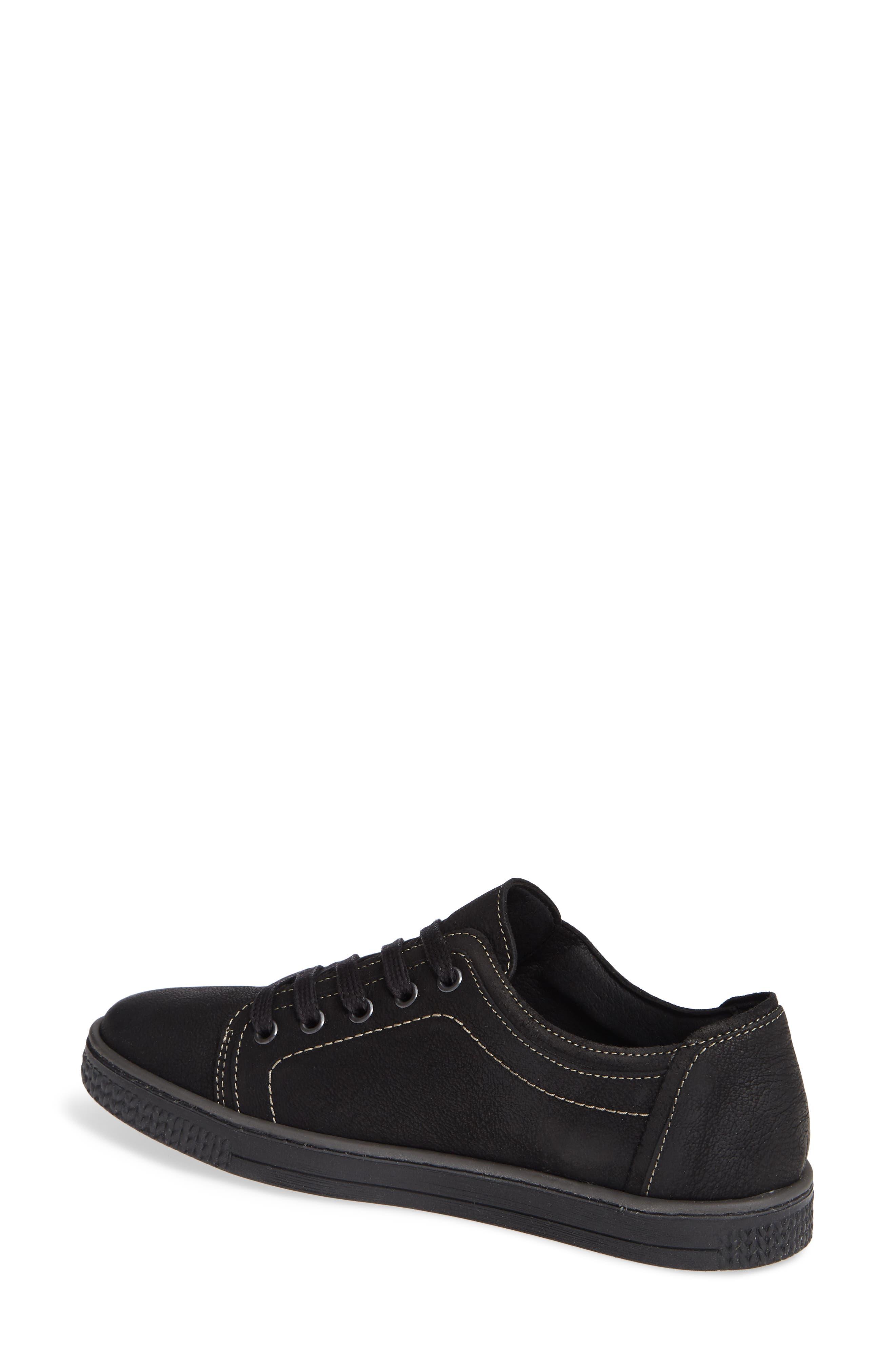 CLOUD, Nagano Low Top Sneaker, Alternate thumbnail 2, color, 001