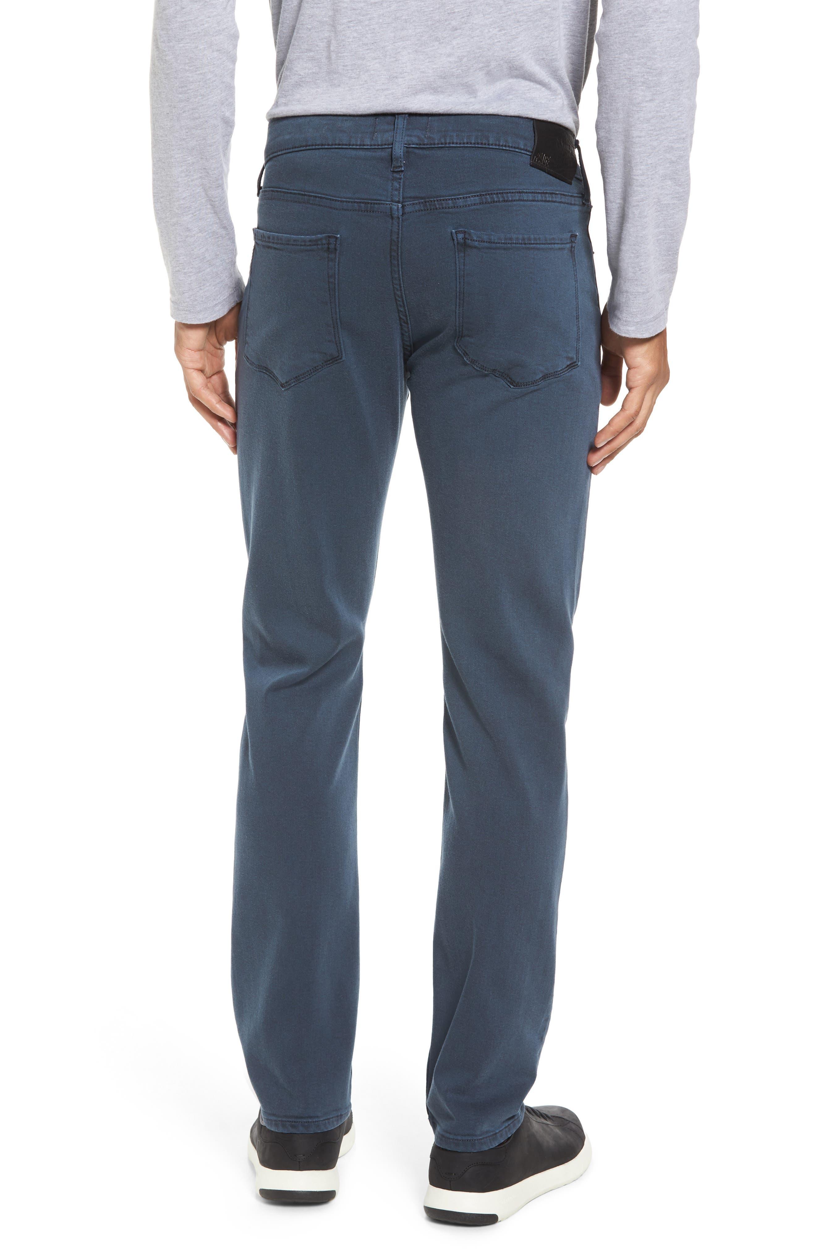 PAIGE, Lennox Slim Fit Jeans, Alternate thumbnail 2, color, 400