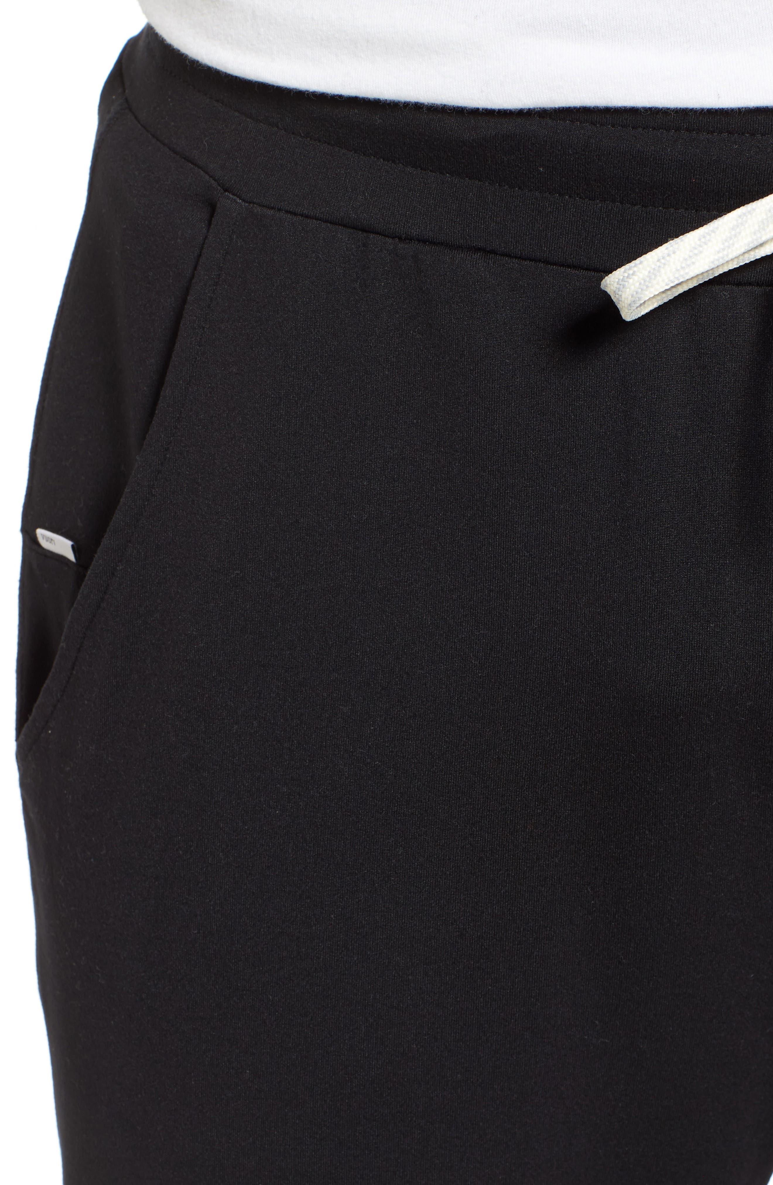 VUORI, Ponto Jogger Pants, Alternate thumbnail 6, color, BLACK