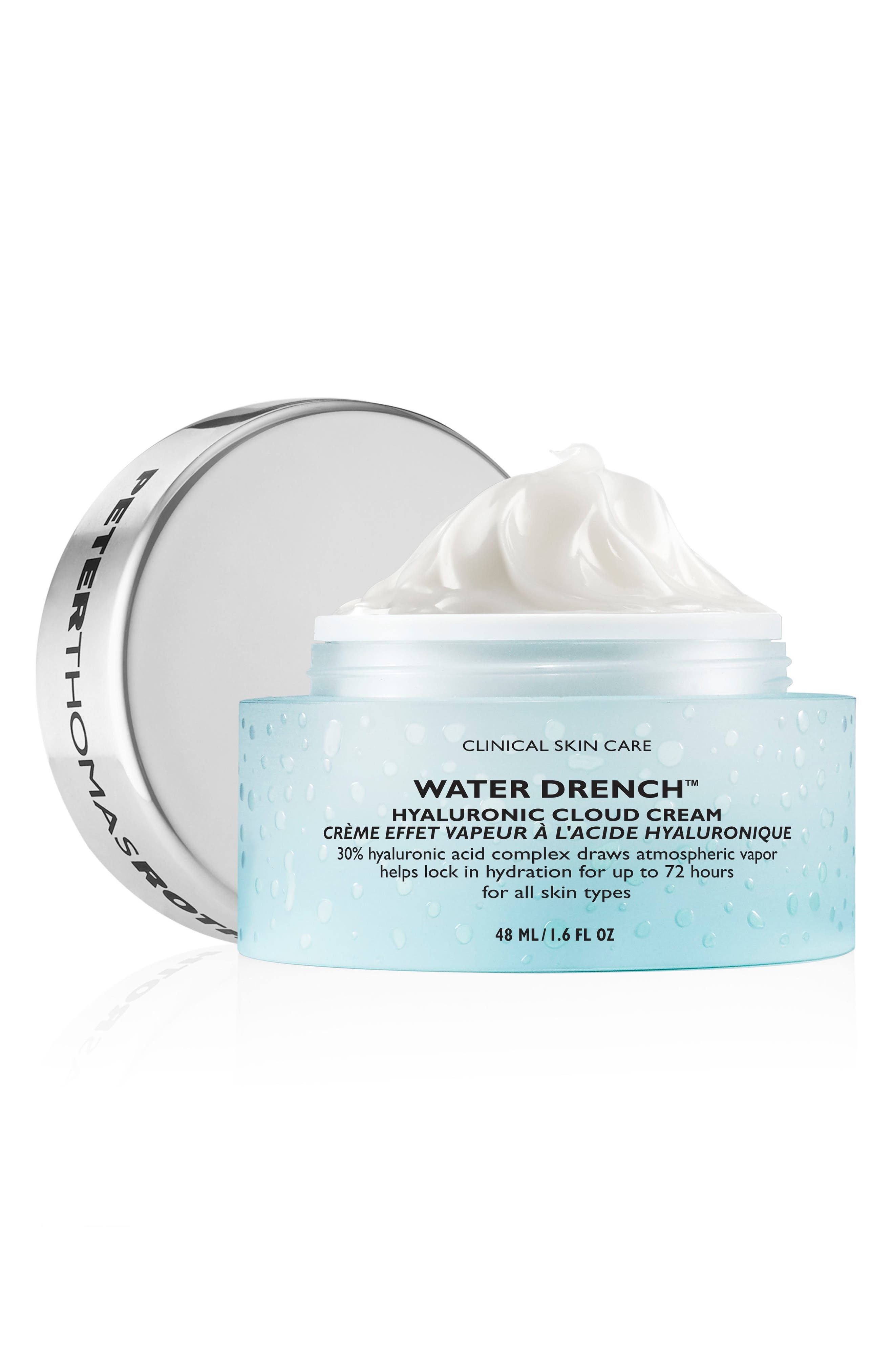 PETER THOMAS ROTH, Water Drench Hyaluronic Acid Cloud Cream, Alternate thumbnail 2, color, NO COLOR