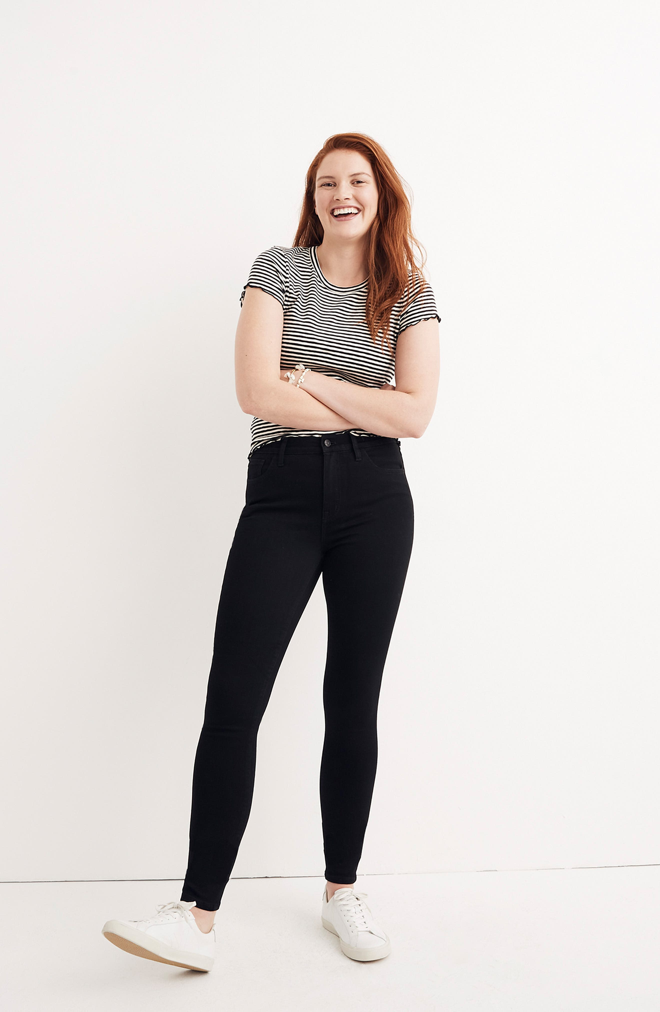 MADEWELL, Roadtripper Skinny Jeans, Alternate thumbnail 10, color, BENNET WASH