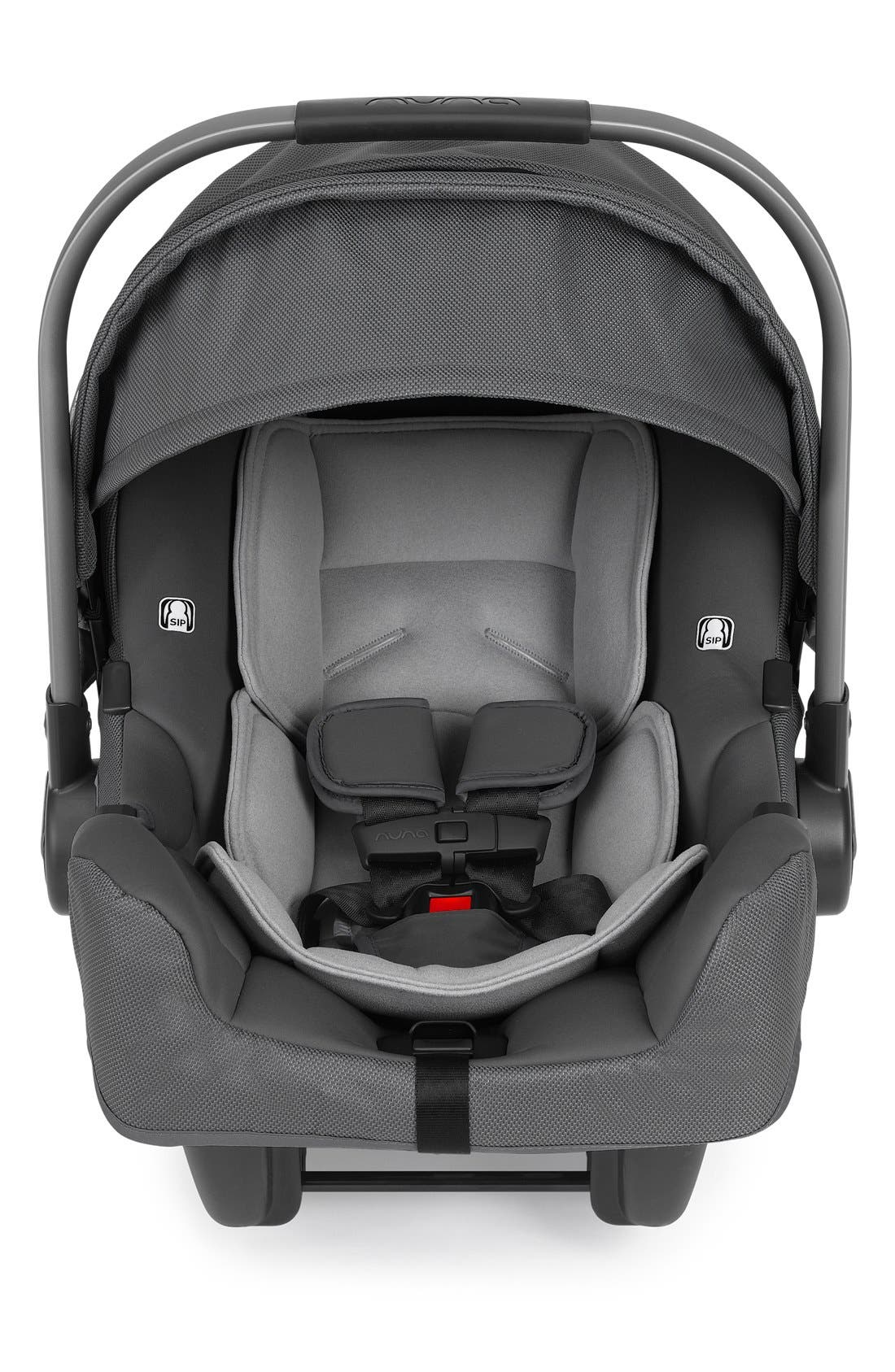 NUNA, PIPA<sup>™</sup> Car Seat & Base, Alternate thumbnail 5, color, GRAPHITE