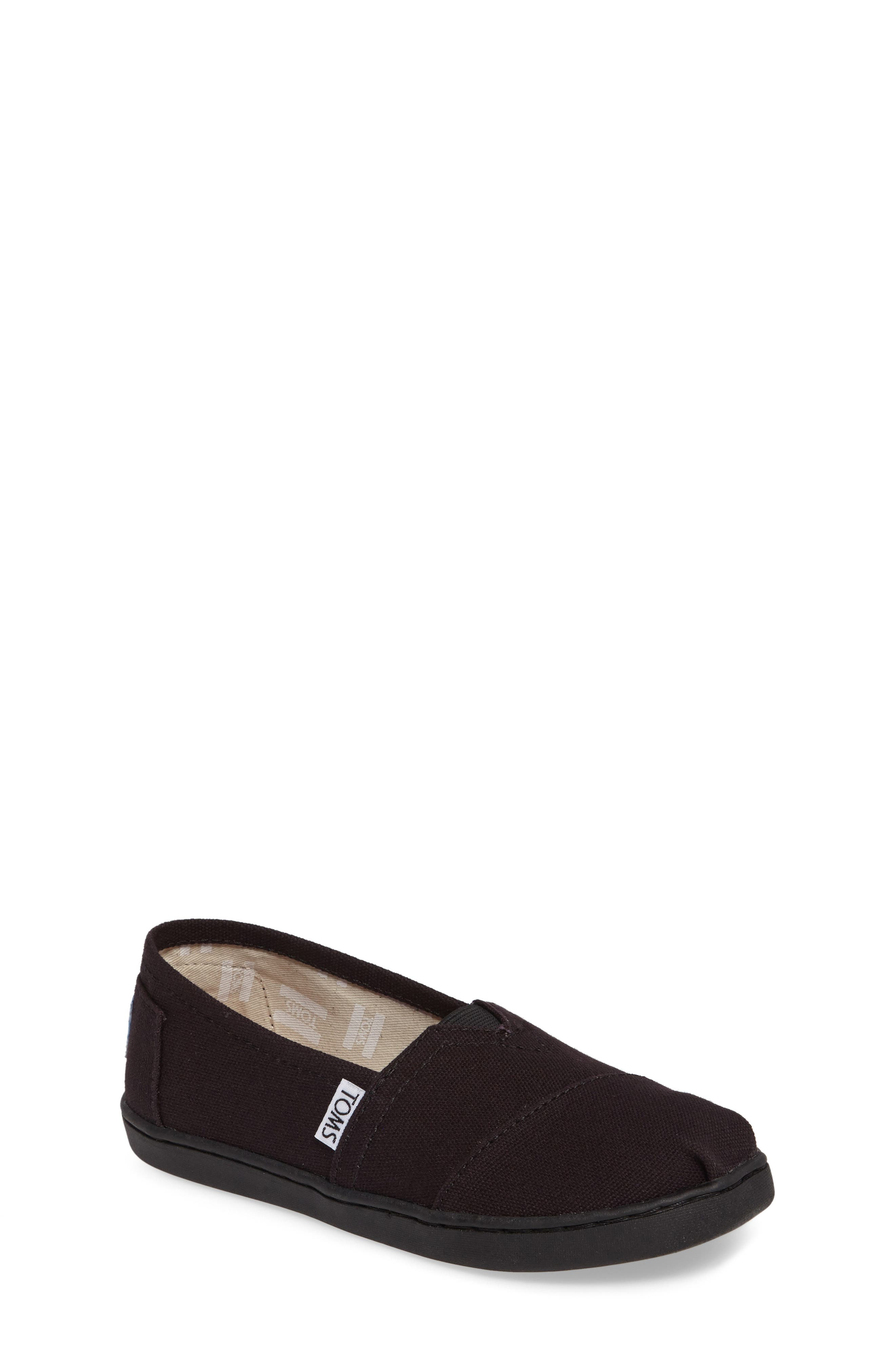 TOMS 2.0 Classic Alpargata Slip-On, Main, color, BLACK CANVAS