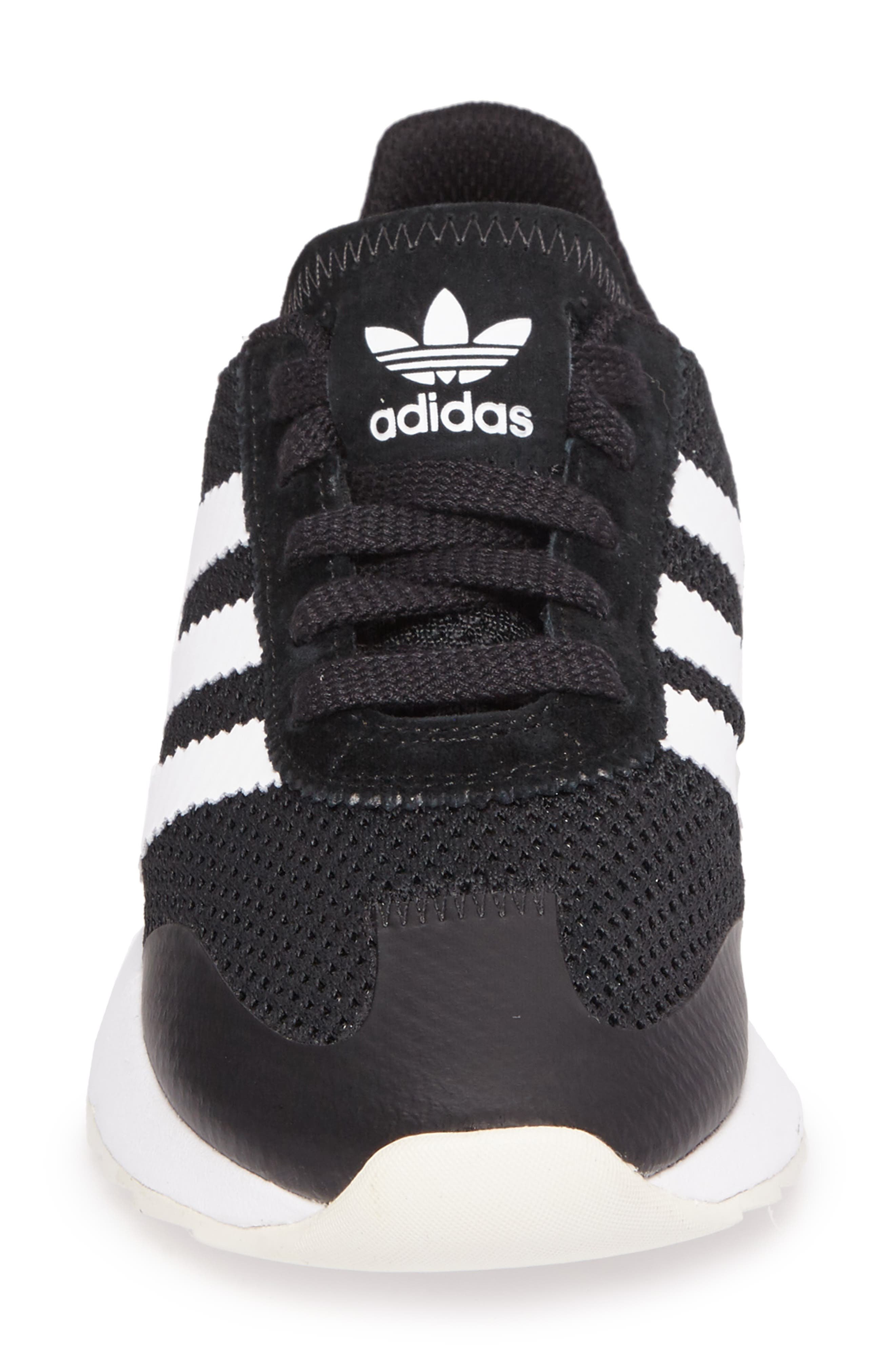 ADIDAS, Flashback Sneaker, Alternate thumbnail 4, color, 001