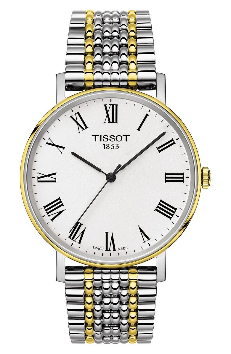 Tissot EVERYTIME CLASSIC BRACELET STRAP WATCH, 38MM