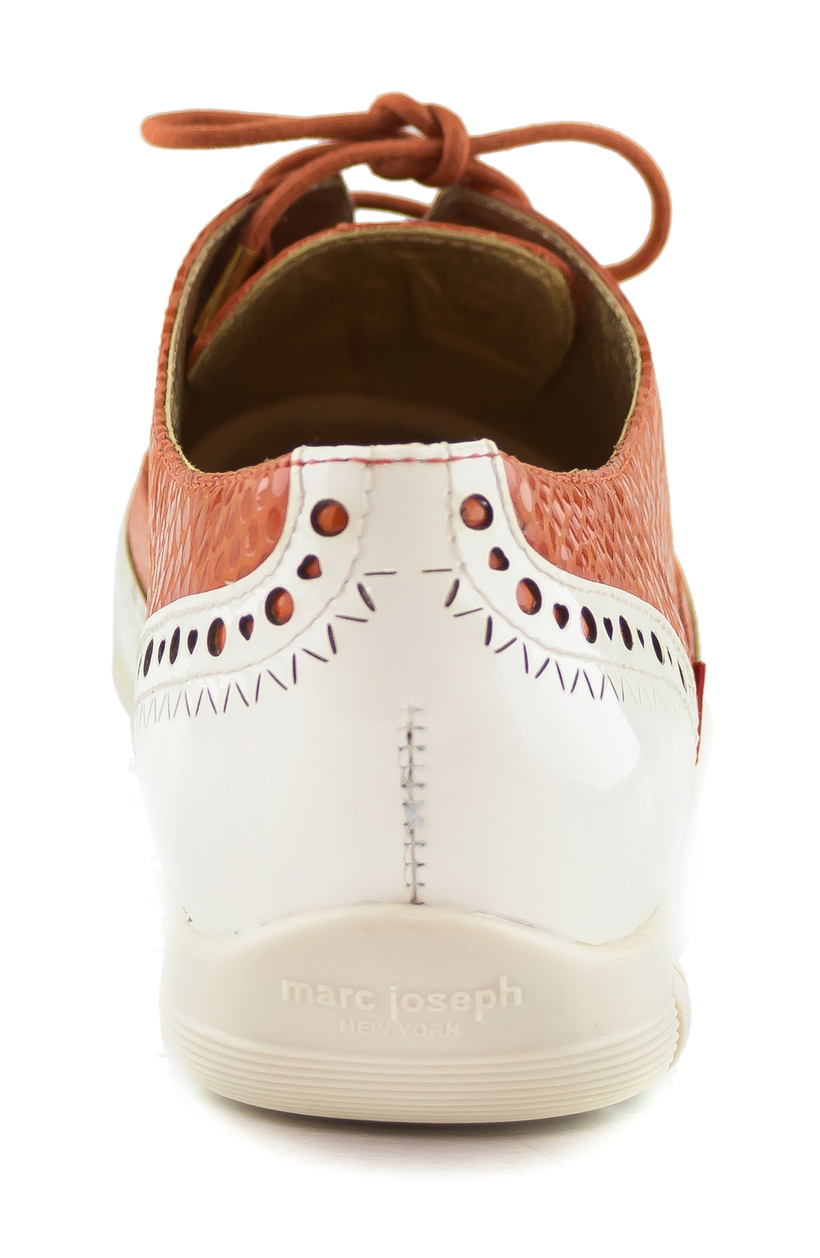 MARC JOSEPH NEW YORK, NYC Golf Loafer, Alternate thumbnail 7, color, CORAL SNAKE PRINT LEATHER