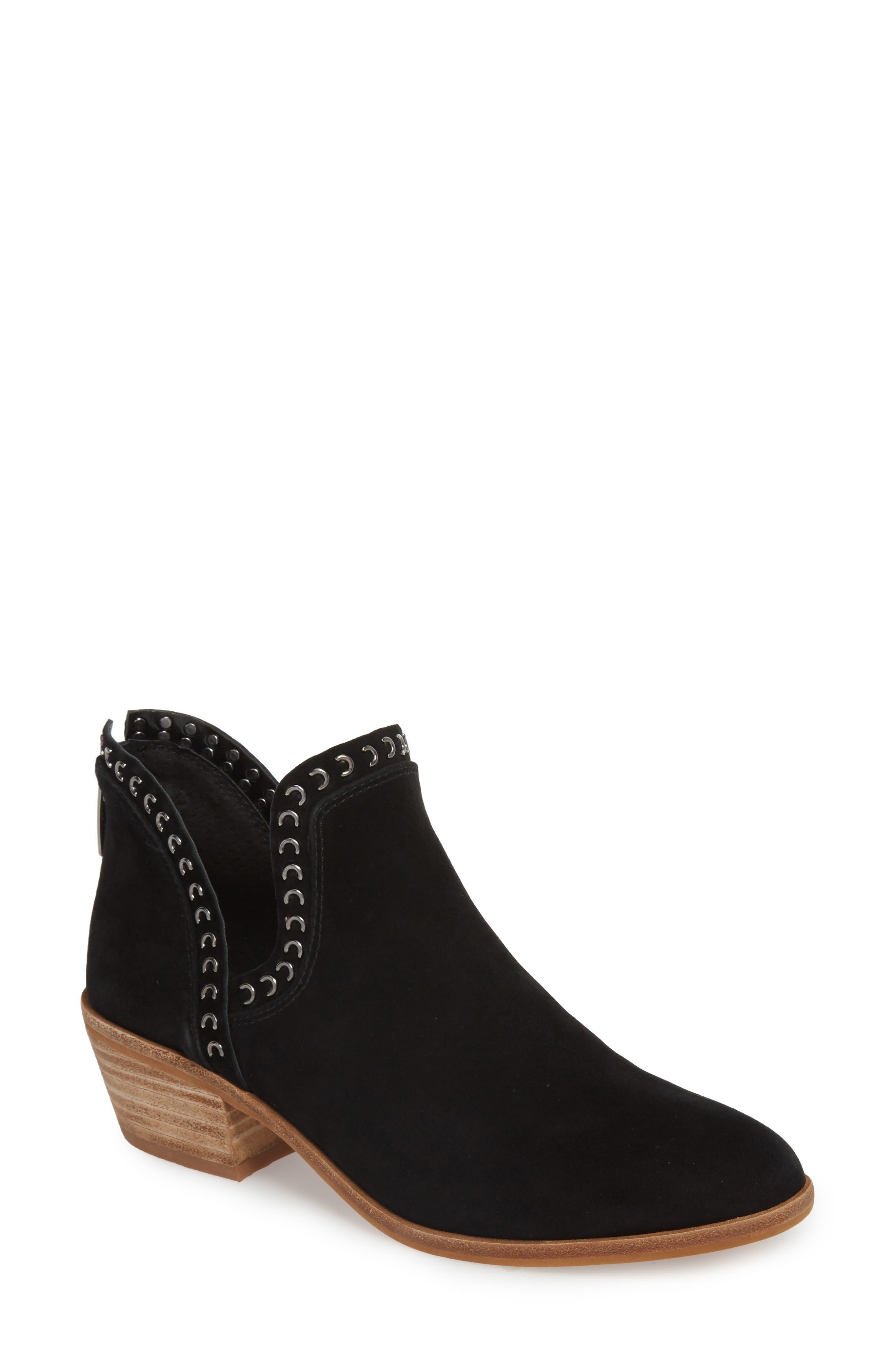 VINCE CAMUTO Prafinta Boot, Main, color, BLACK SUEDE