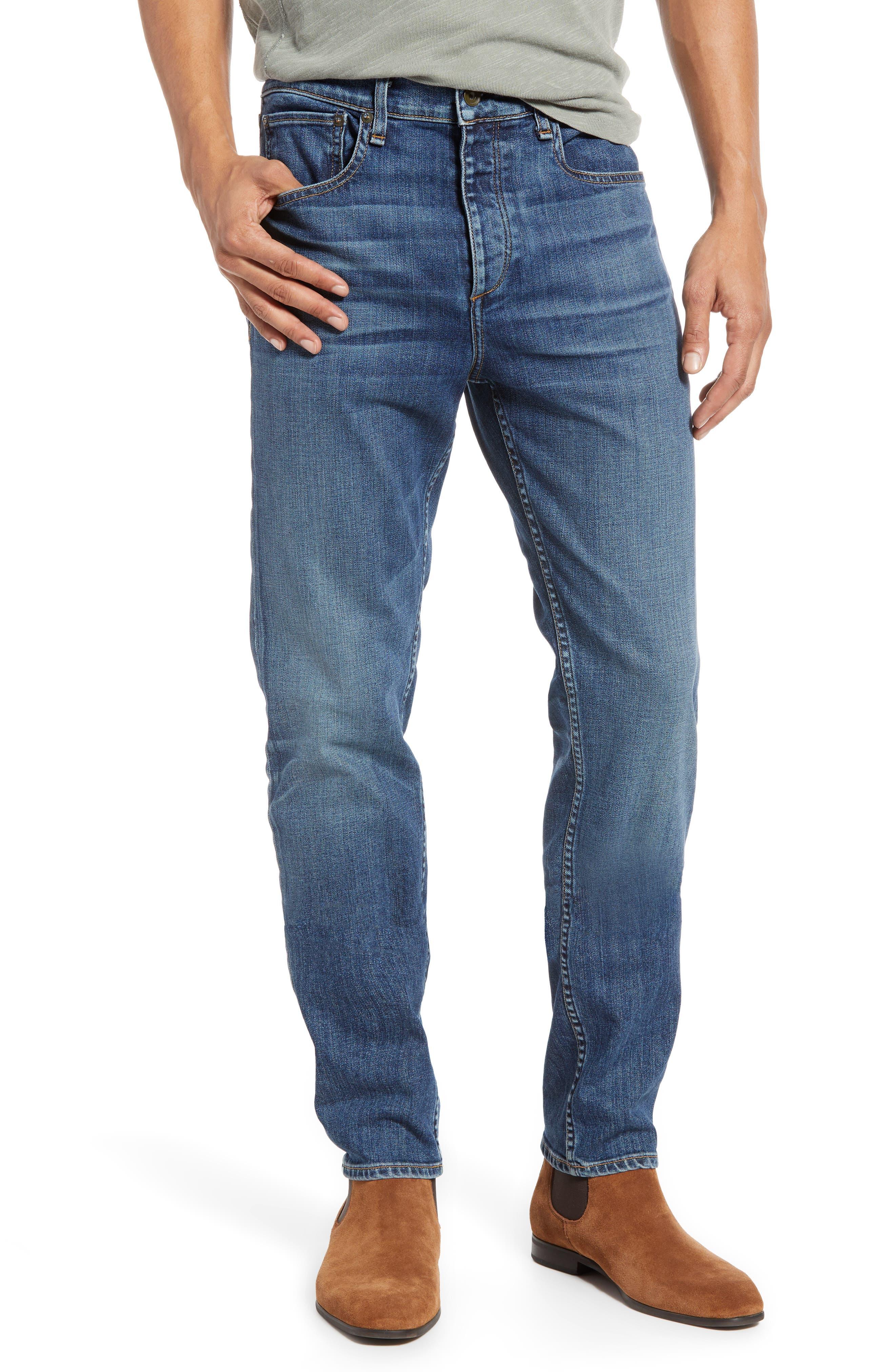 RAG & BONE, Fit 2 Slim Fit Jeans, Main thumbnail 1, color, THROOP