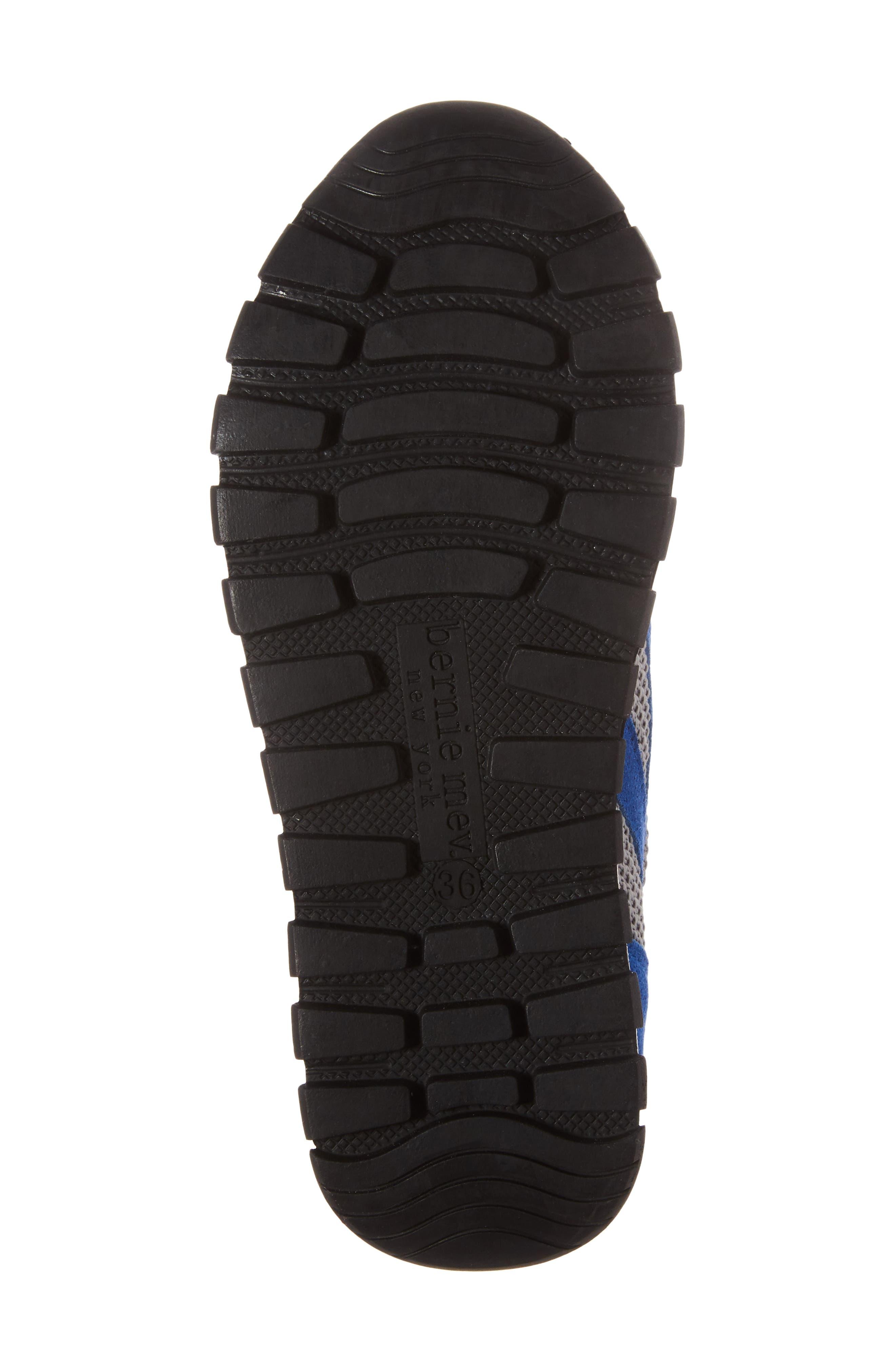 BERNIE MEV., Bernie Mev Tara Cano Sneaker, Alternate thumbnail 6, color, ROYAL BLUE/ GREY FABRIC