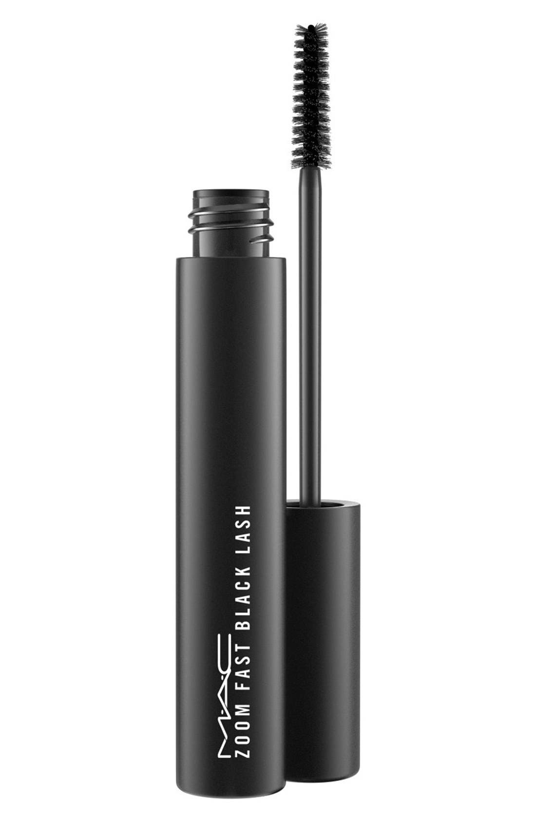 MAC COSMETICS MAC 'Zoom Fast' Black Lash Mascara, Main, color, 000