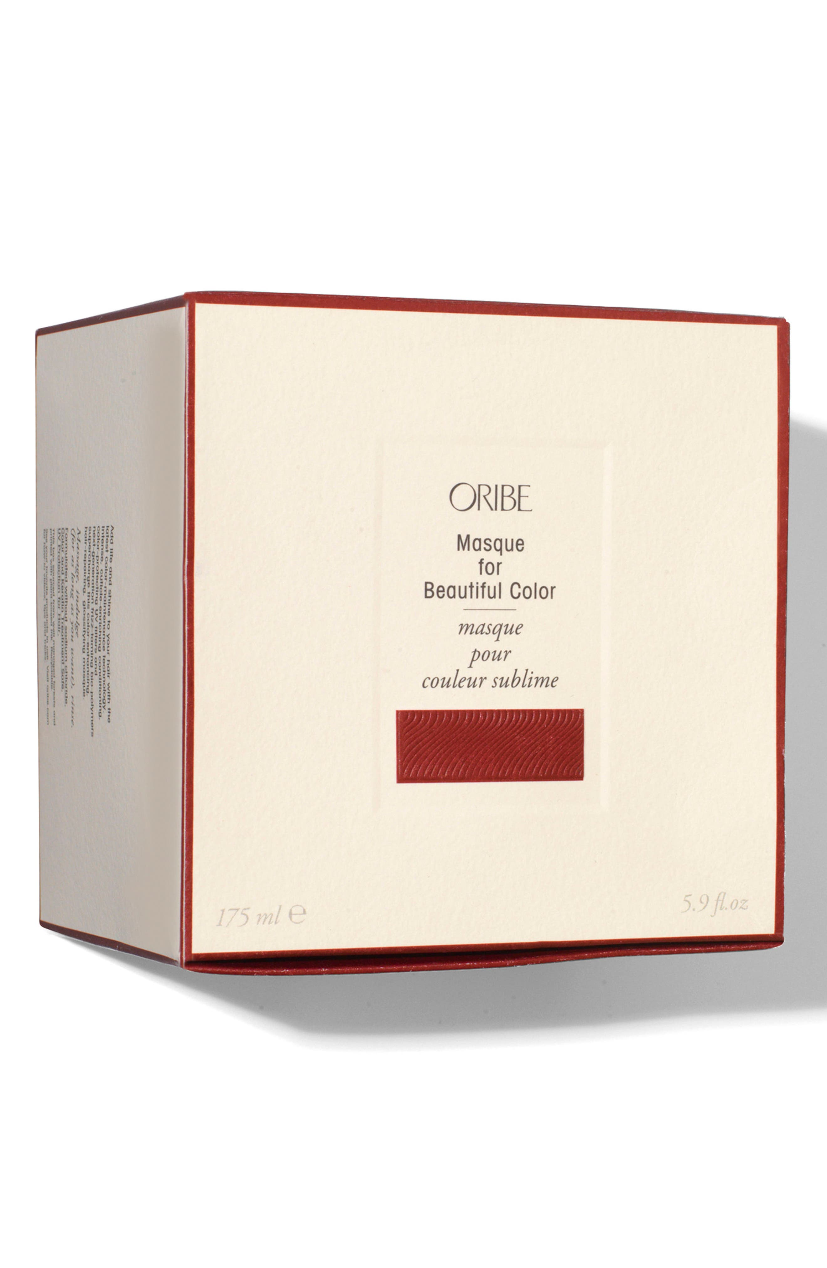 ORIBE, SPACE.NK.apothecary Oribe Masque for Beautiful Color, Alternate thumbnail 4, color, NO COLOR
