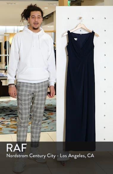 Crepe Column Gown, sales video thumbnail