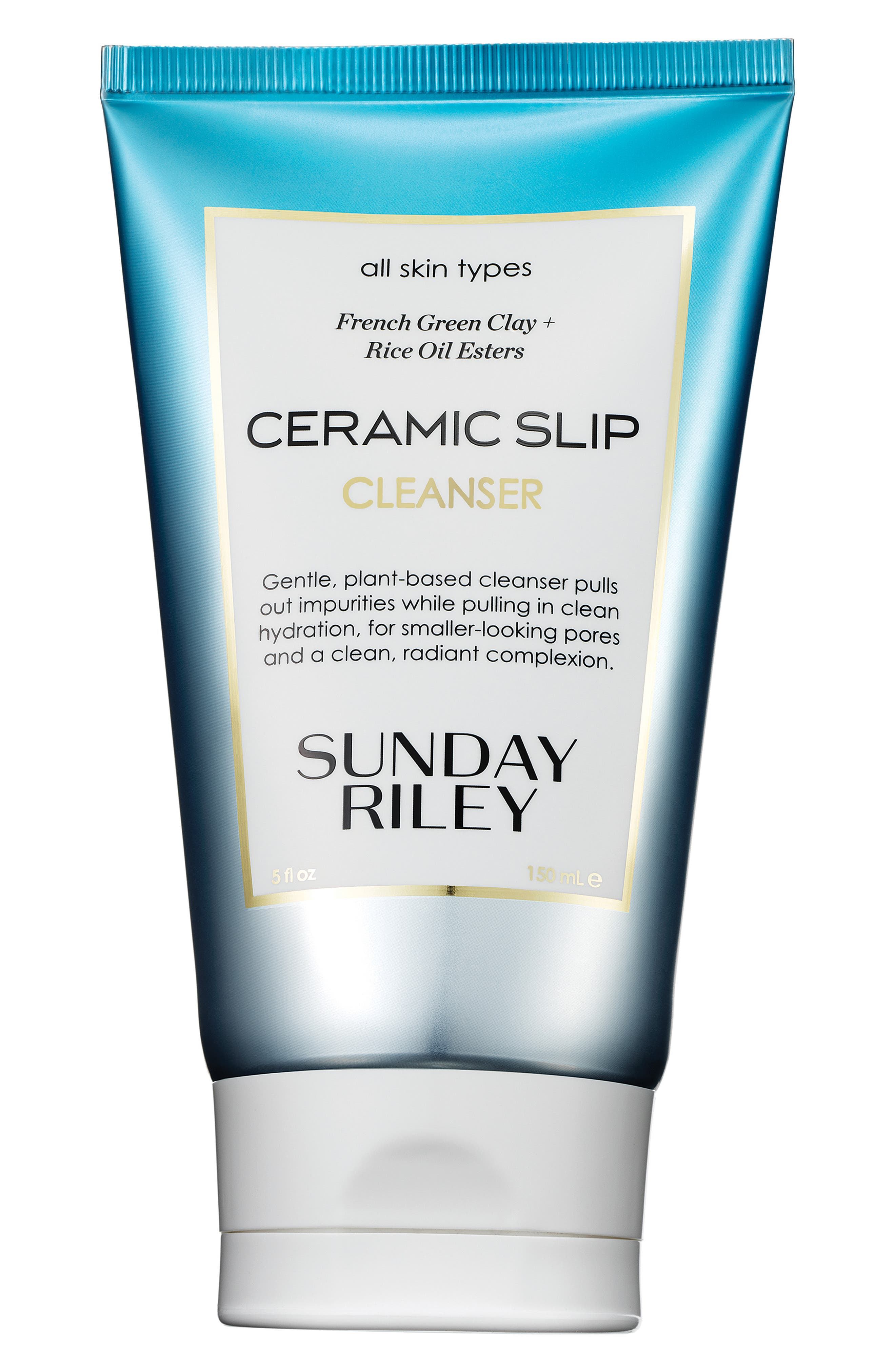 SUNDAY RILEY, SPACE.NK.apothecary Sunday Riley Ceramic Slip Cleanser, Main thumbnail 1, color, NO COLOR