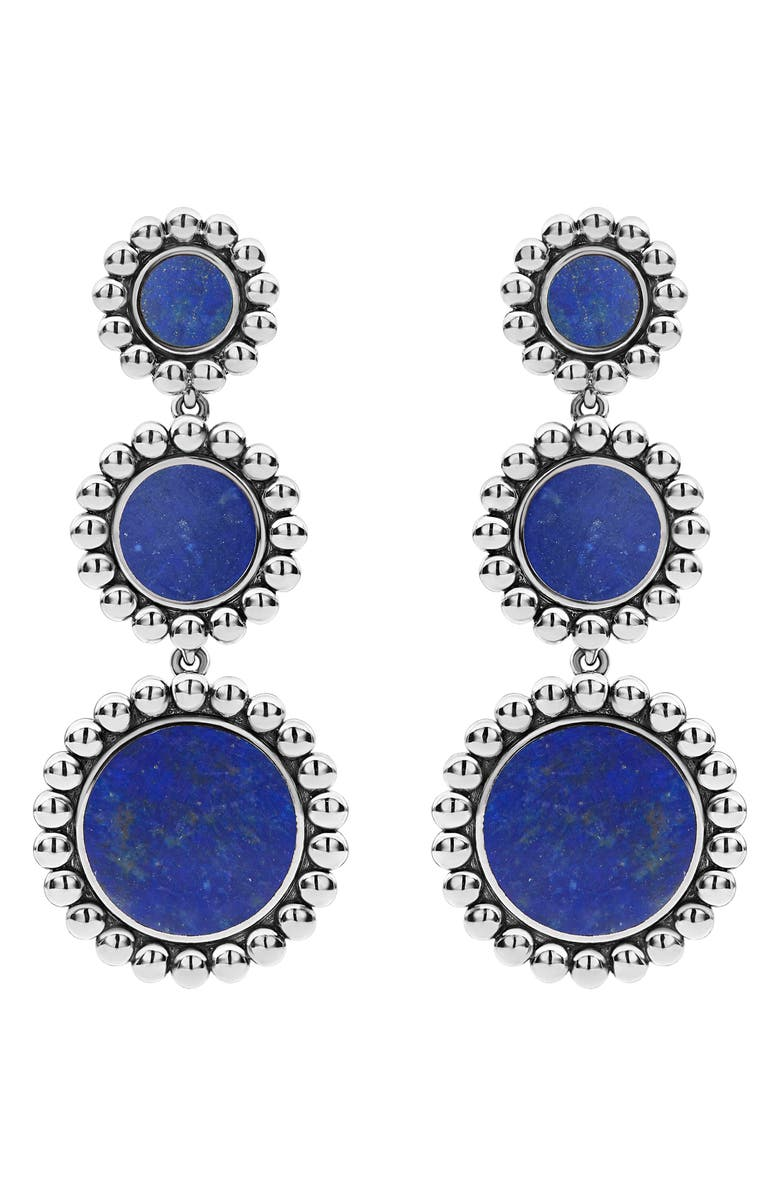 Lagos MAYA TRIPLE CIRCLE DROP EARRINGS