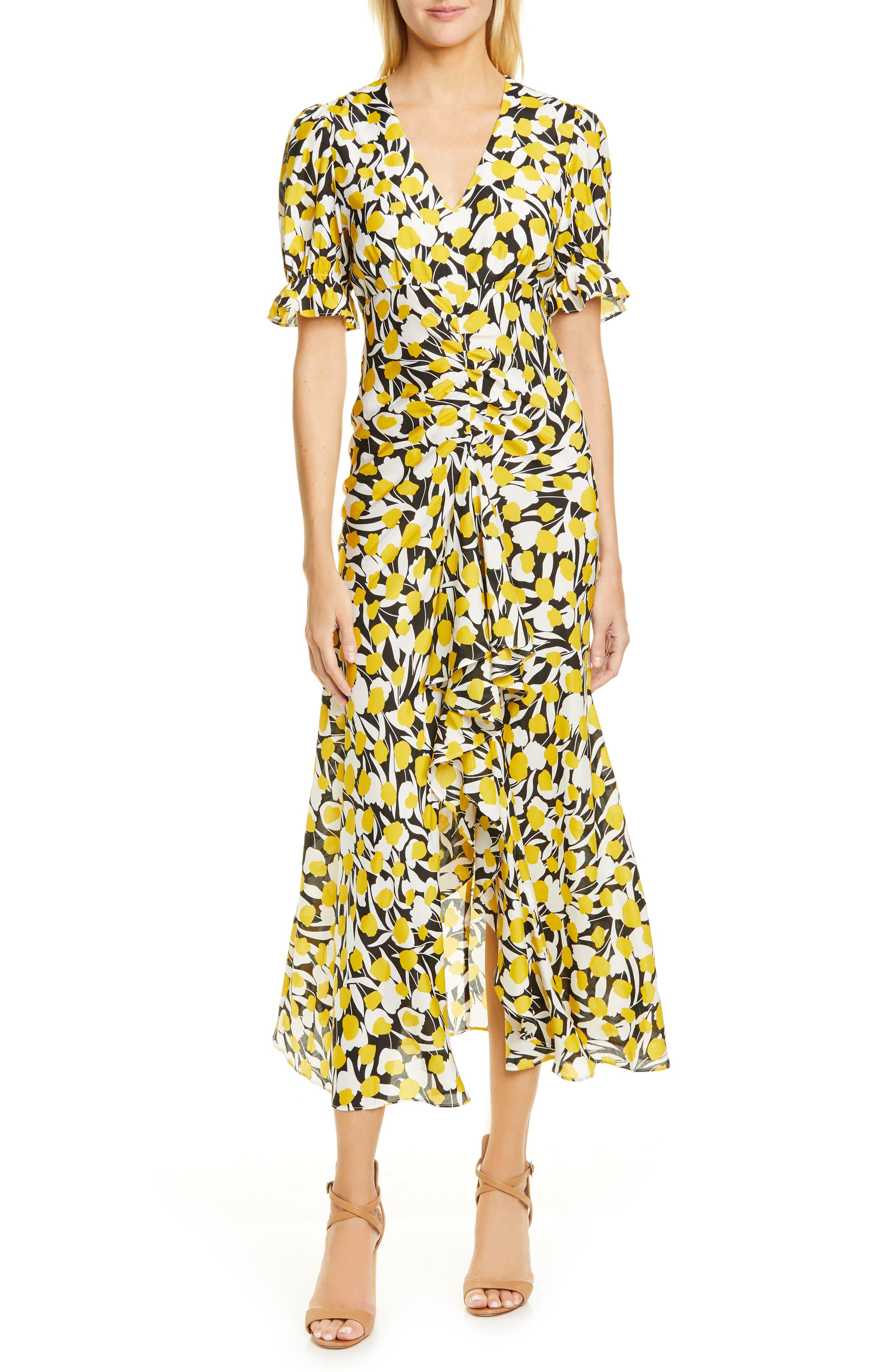 2885684bd4c Eci Floral Print Midi Dress - Gomes Weine AG