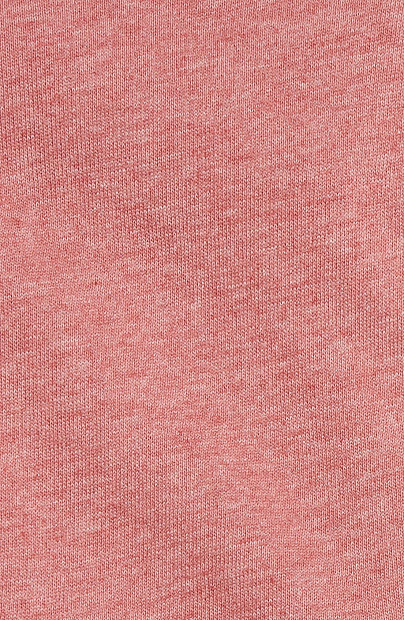 SPLENDID, Ruffle Sweatshirt & Stripe Leggings Set, Alternate thumbnail 2, color, 650