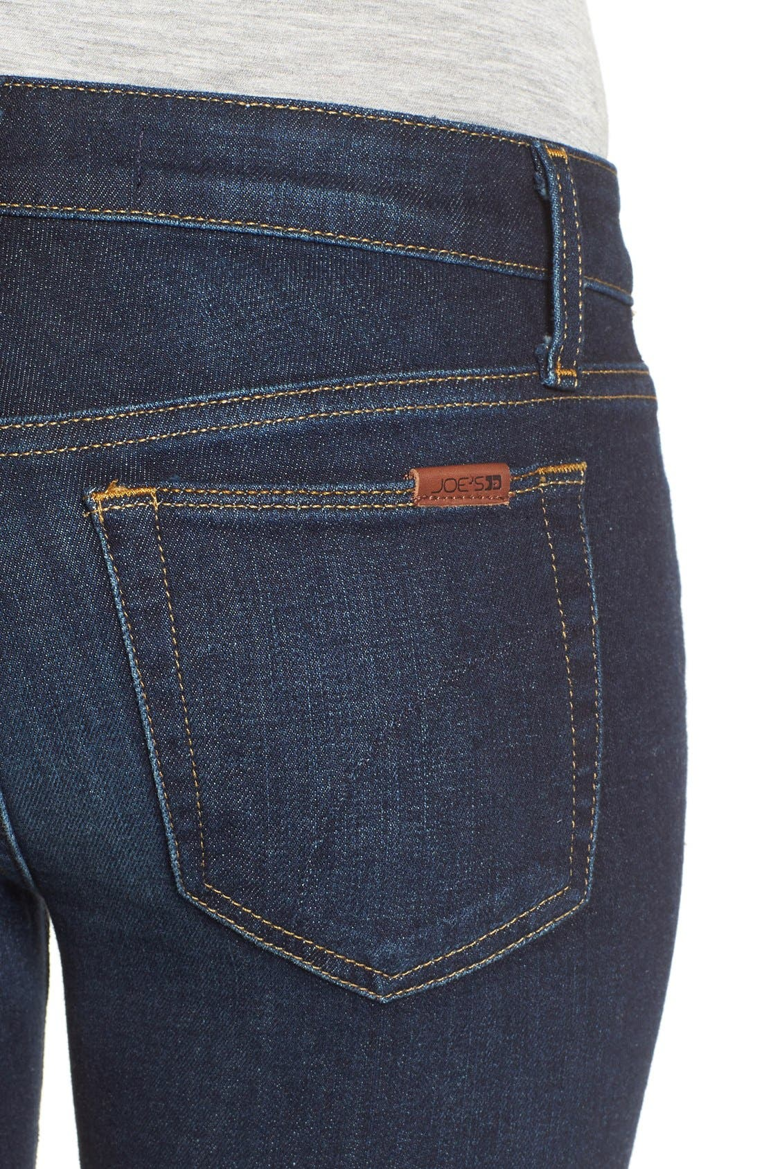 JOE'S, Ankle Skinny Jeans, Alternate thumbnail 6, color, 410
