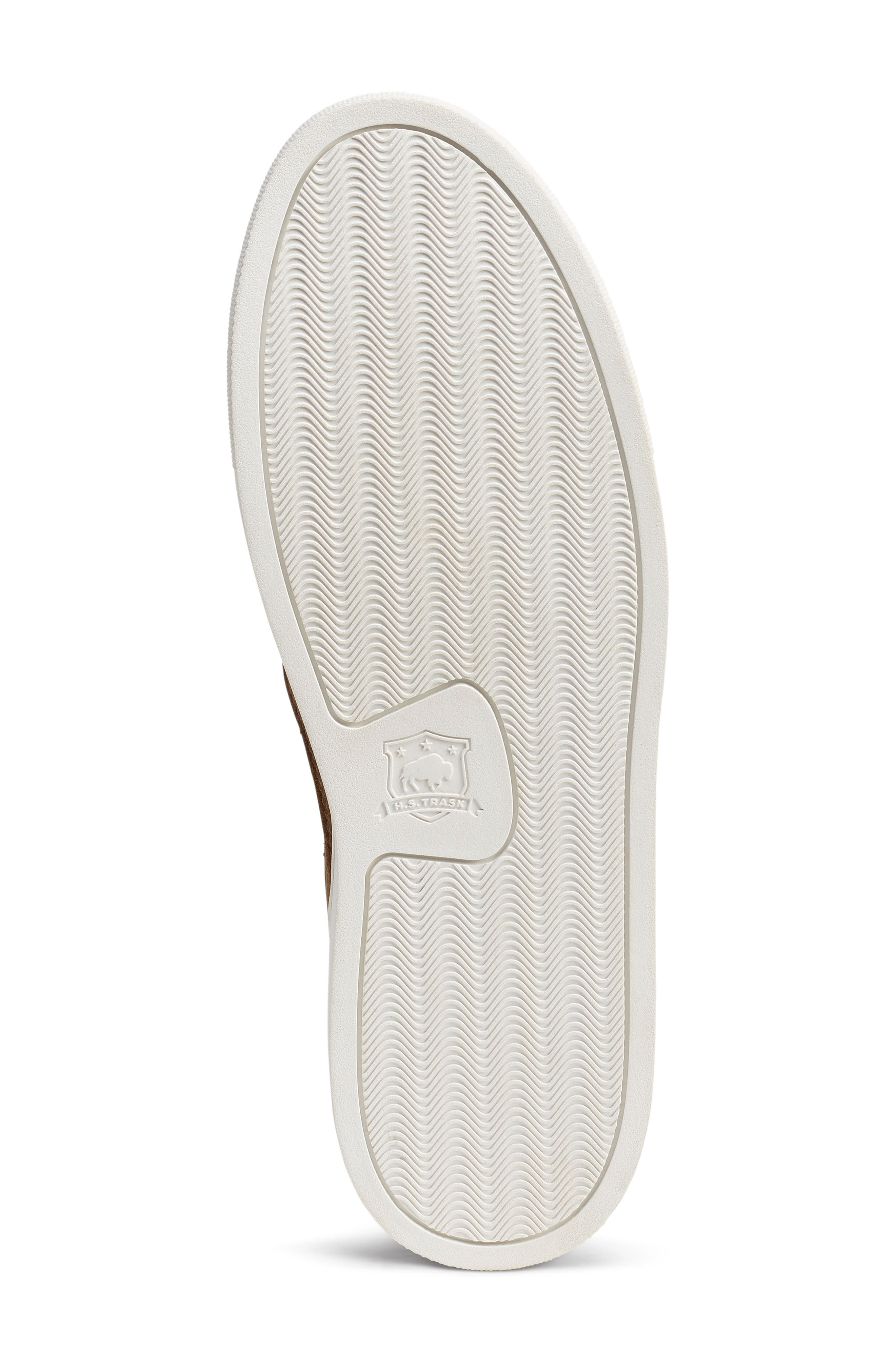 TRASK, Alex Slip-On Sneaker, Alternate thumbnail 6, color, SNUFF SUEDE