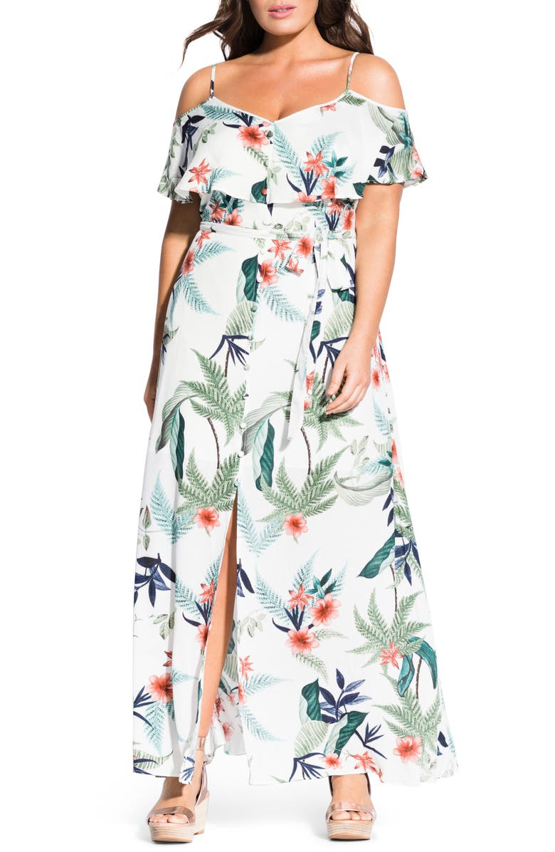 City Chic BAHAMAS MAXI DRESS