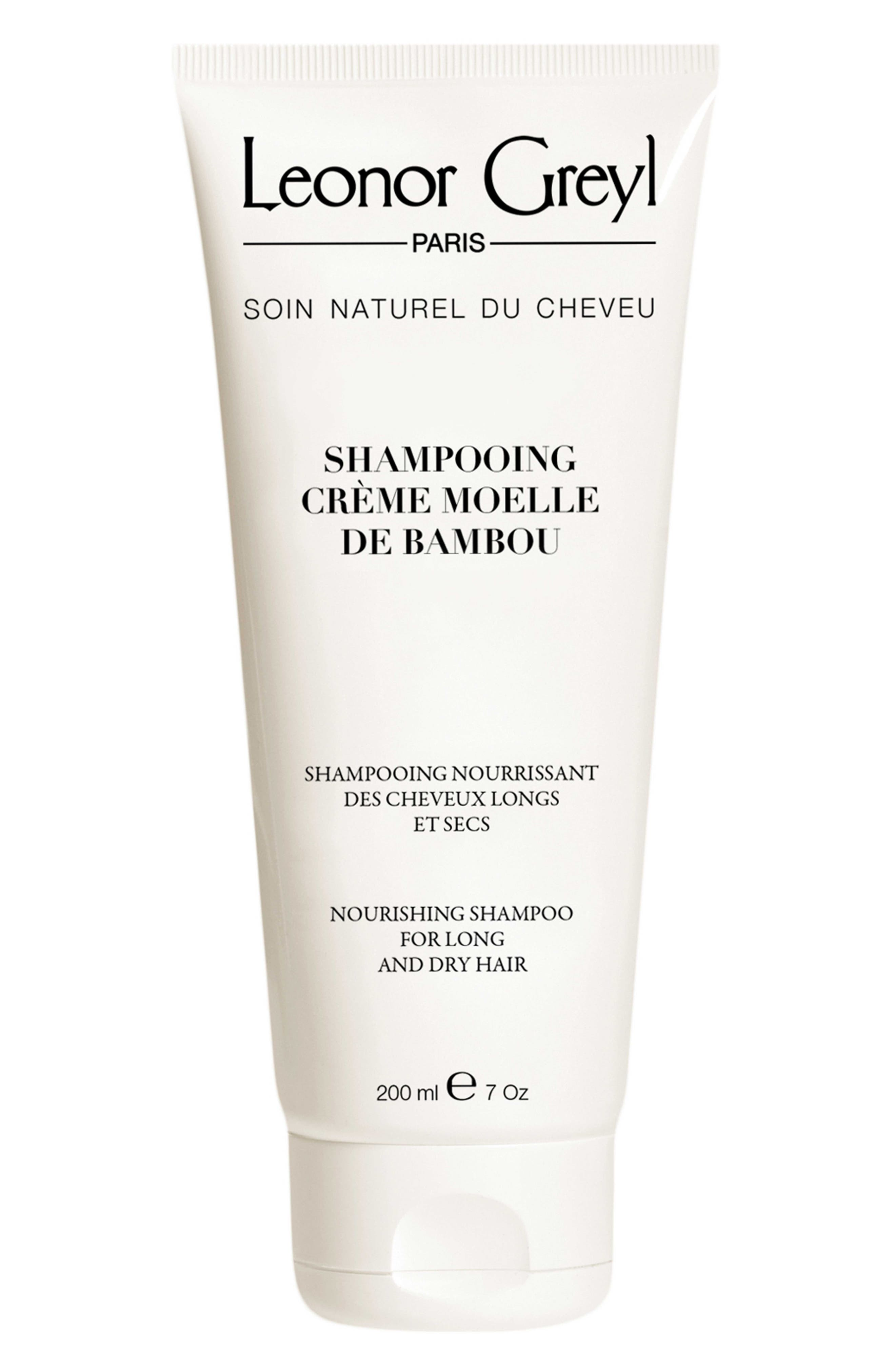 LEONOR GREYL PARIS, 'Crème Moelle de Bambou' Nourishing Shampoo, Main thumbnail 1, color, NO COLOR
