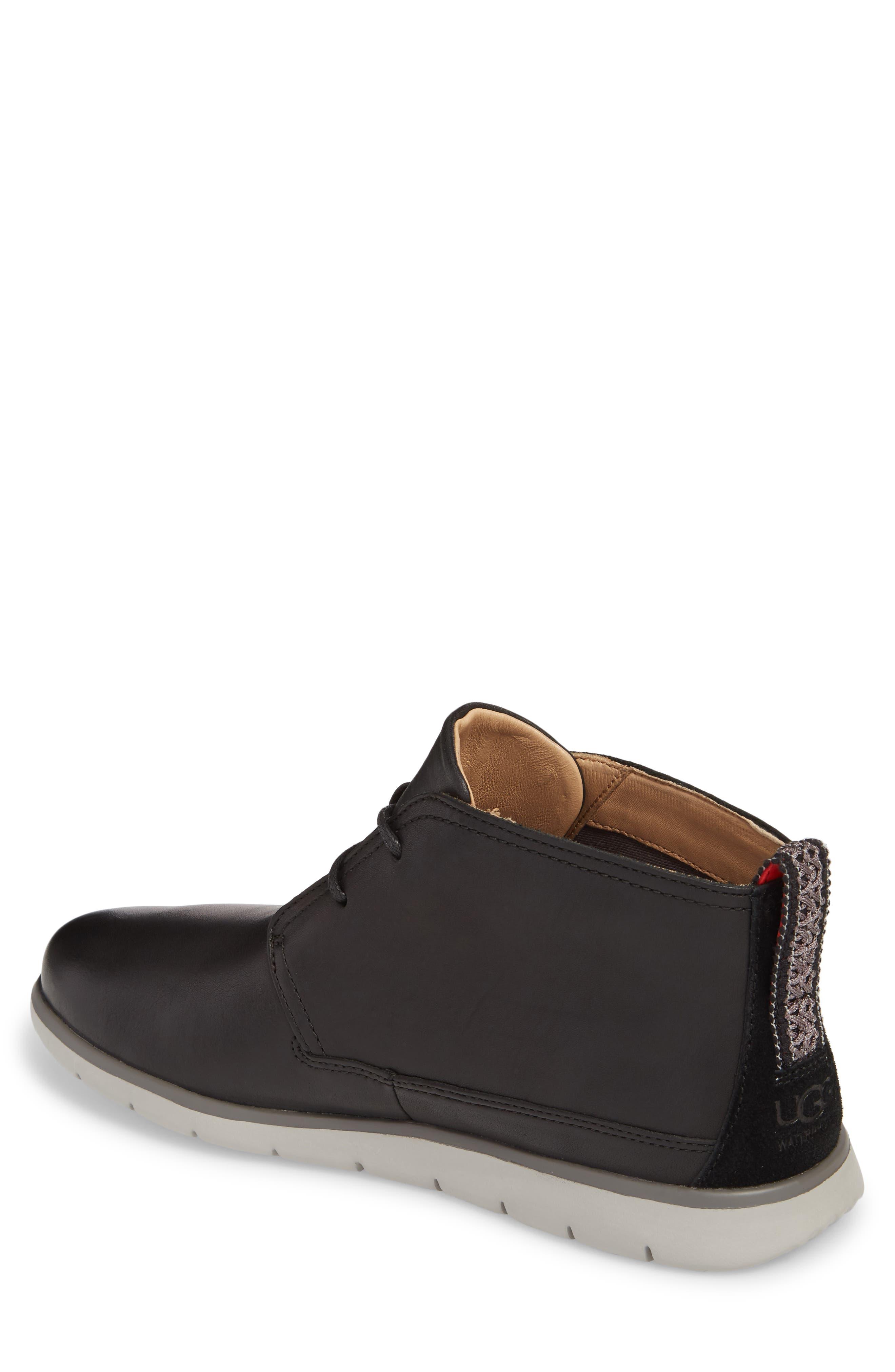 UGG<SUP>®</SUP>, Freamon Chukka Boot, Alternate thumbnail 2, color, BLACK