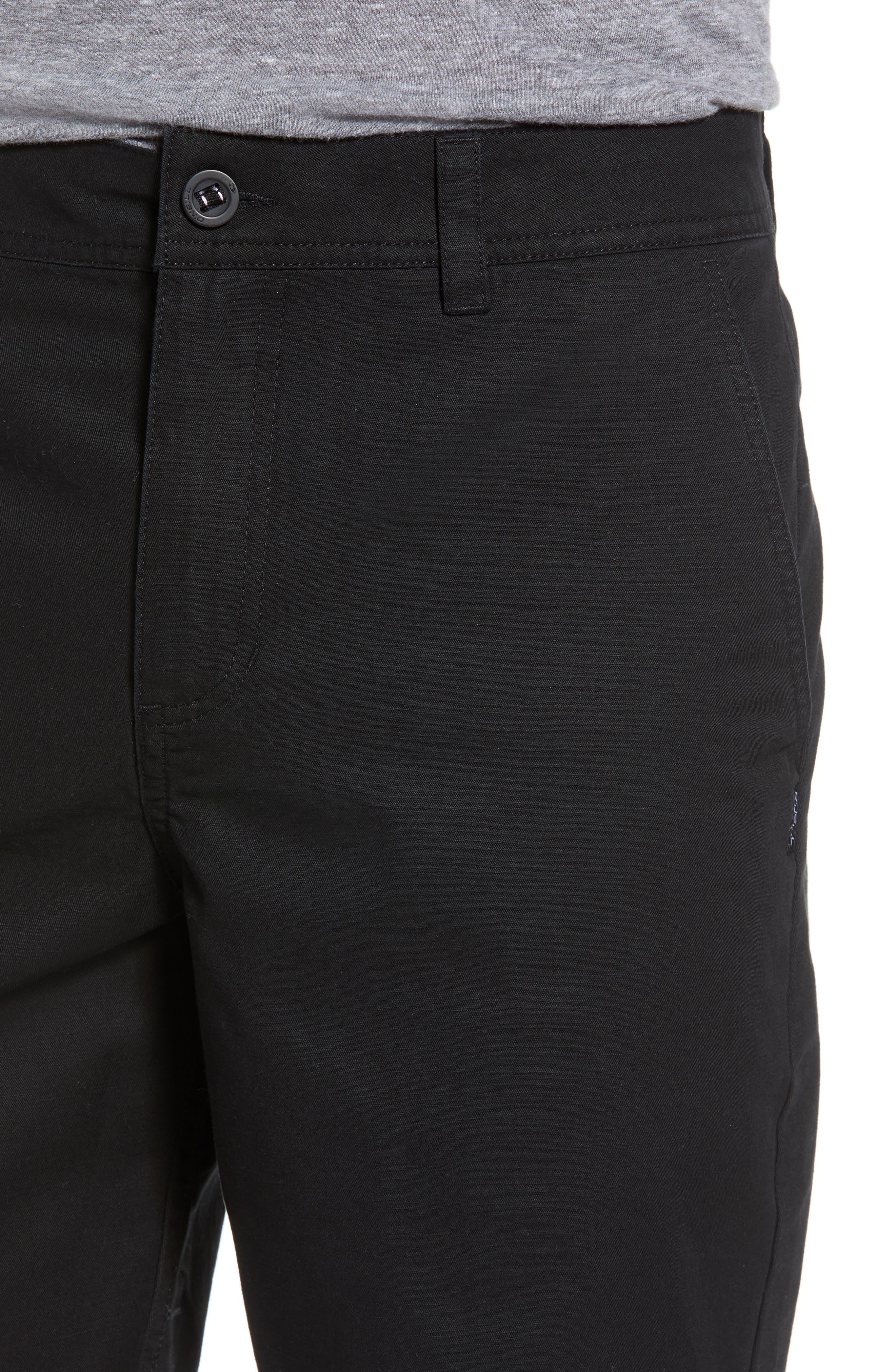 O'NEILL, Jay Chino Shorts, Alternate thumbnail 4, color, 001