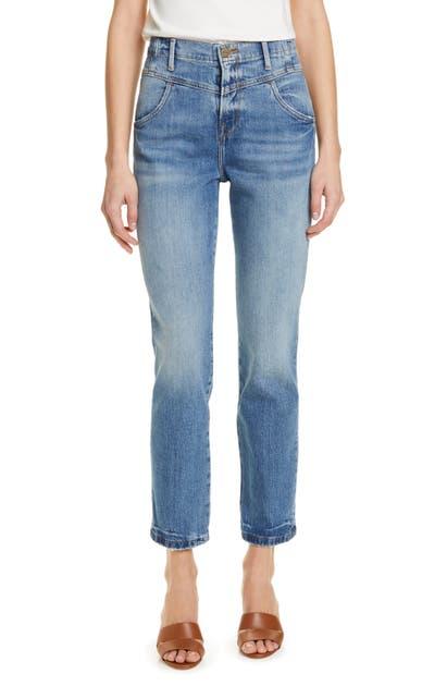 Frame Jeans V-YOKE STRAIGHT LEG JEANS