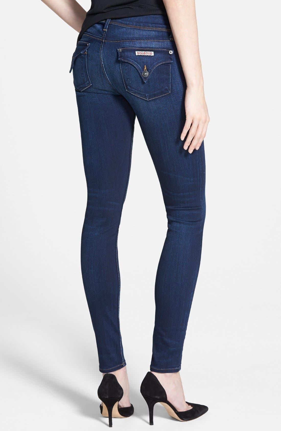 HUDSON JEANS, 'Collin' Supermodel Skinny Jeans, Alternate thumbnail 3, color, 423