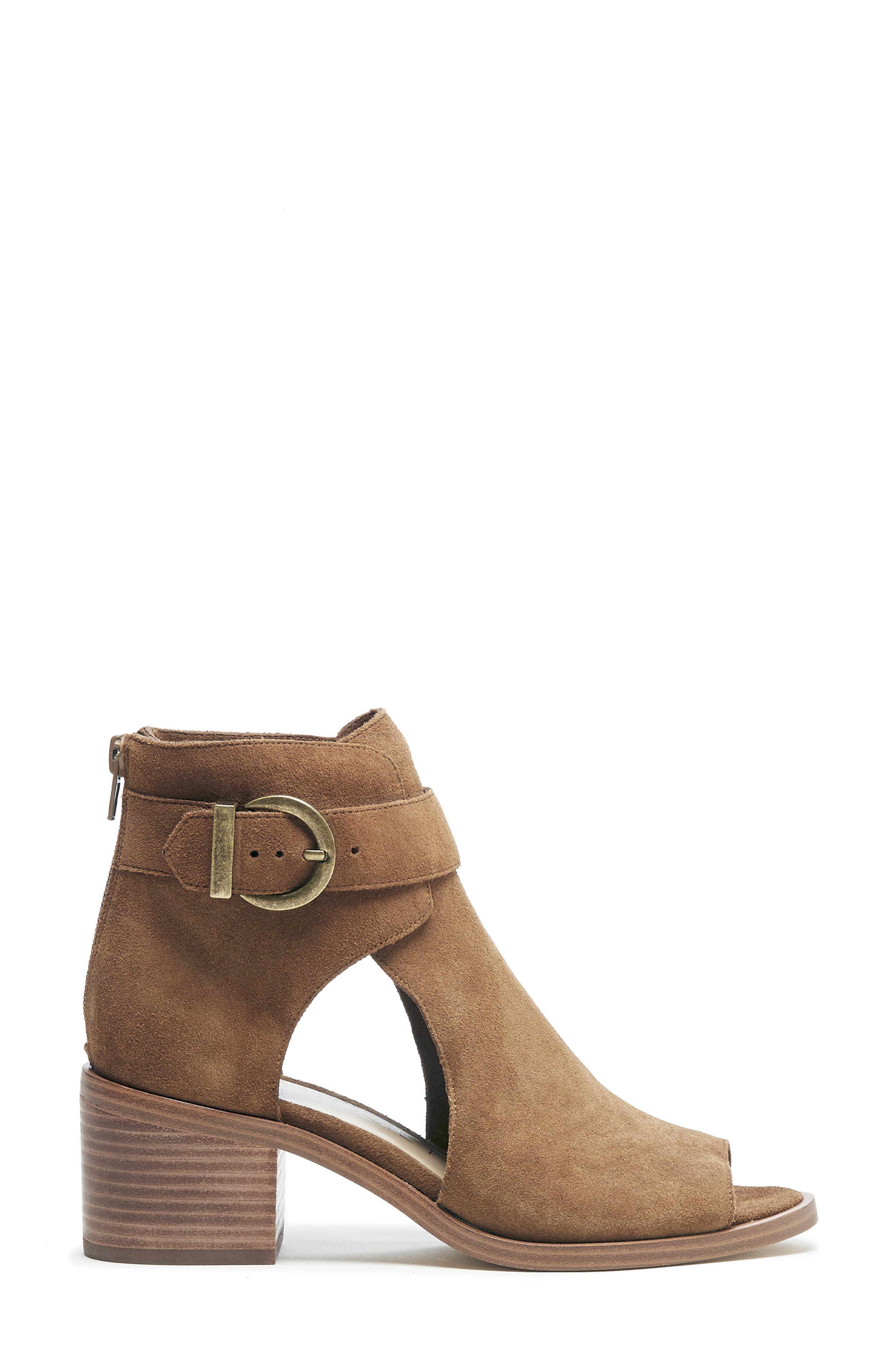 SOLE SOCIETY, Tracy Block Heel Sandal, Alternate thumbnail 2, color, TOBACCO SUEDE