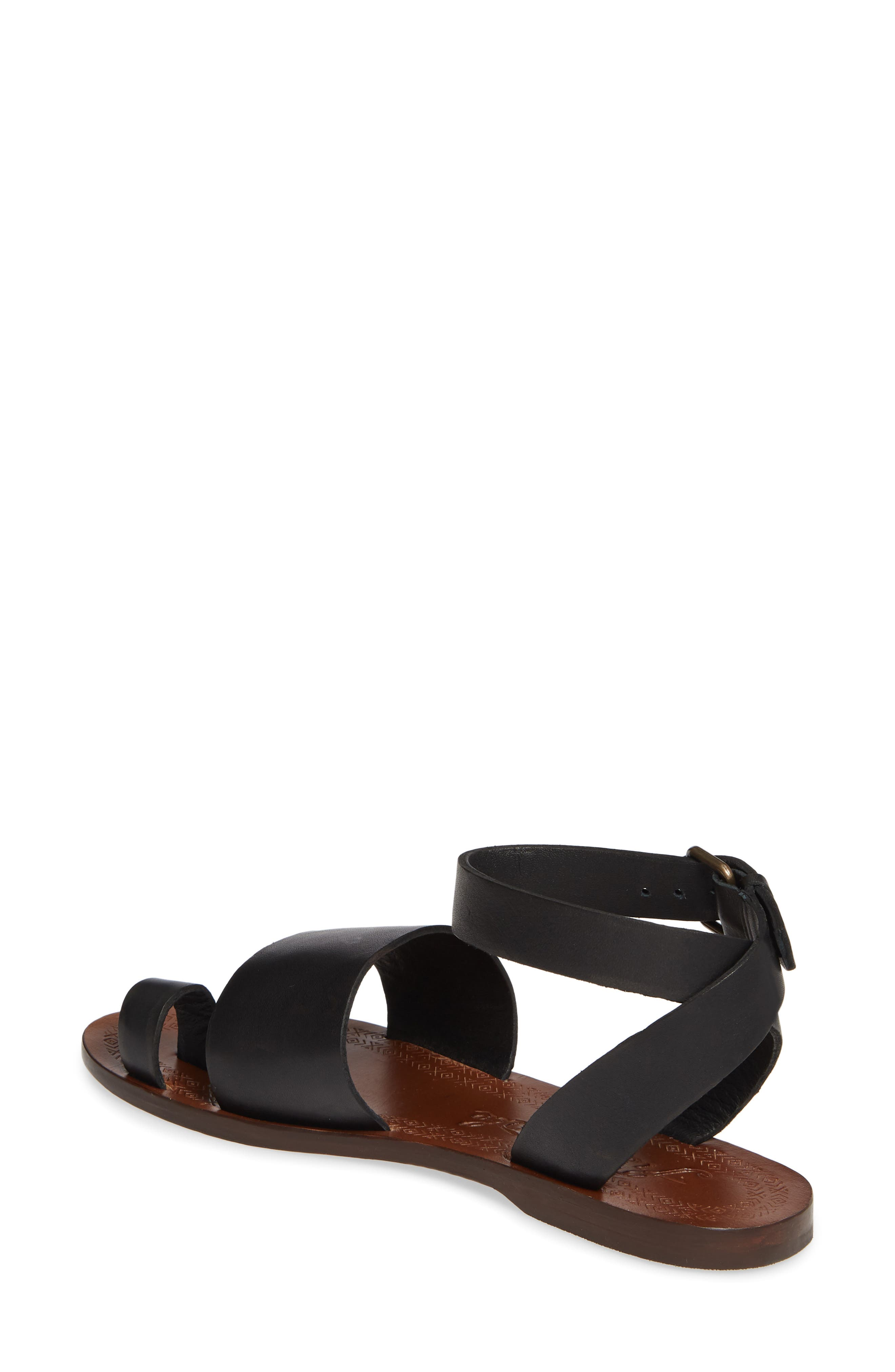 FREE PEOPLE, Torrence Ankle Wrap Sandal, Alternate thumbnail 2, color, OXFORD/ SANG