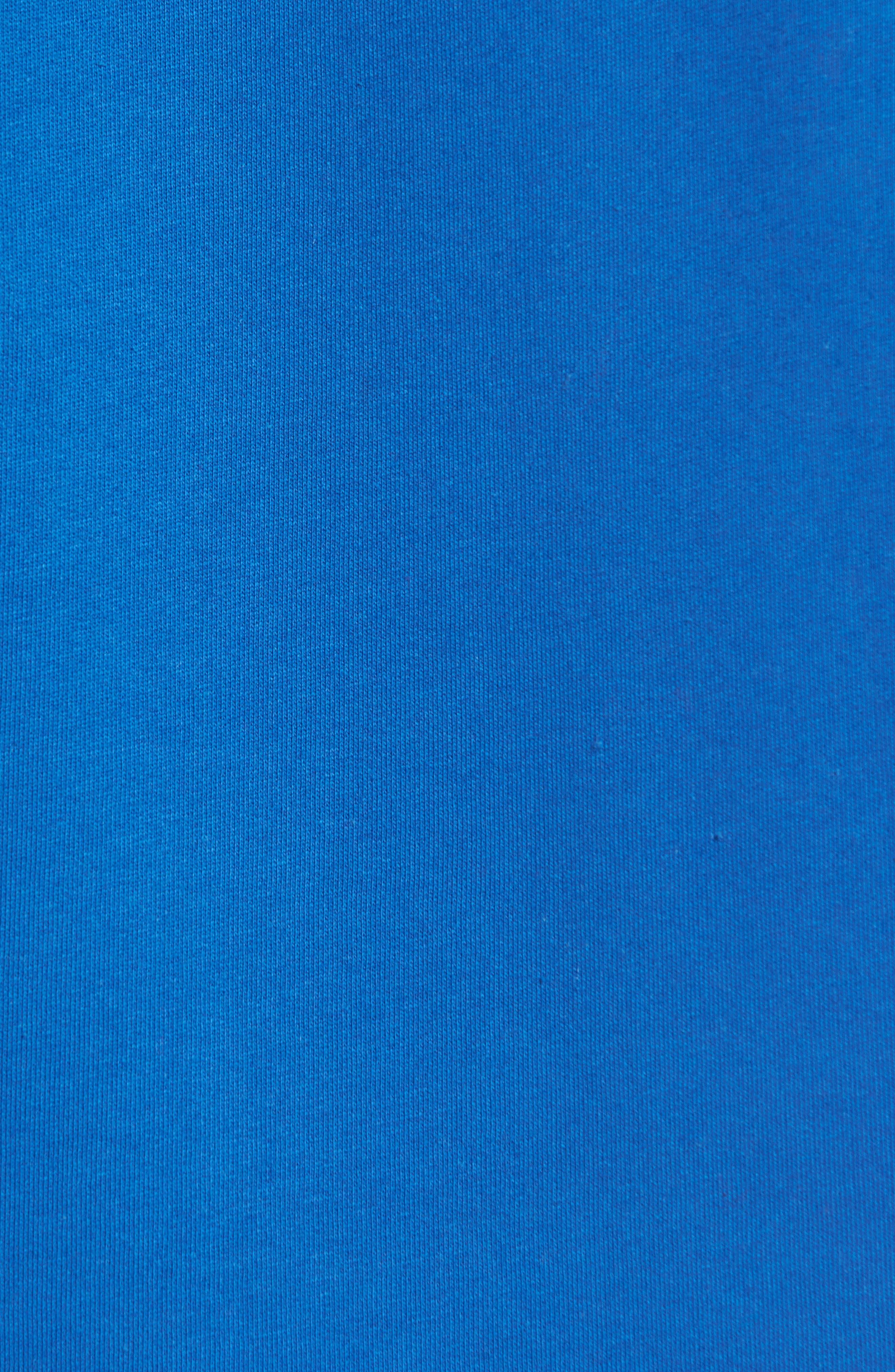 LACOSTE, 'Sport' Crewneck Sweatshirt, Alternate thumbnail 5, color, NAVY