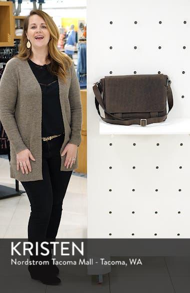 'Logan' Messenger Bag, sales video thumbnail