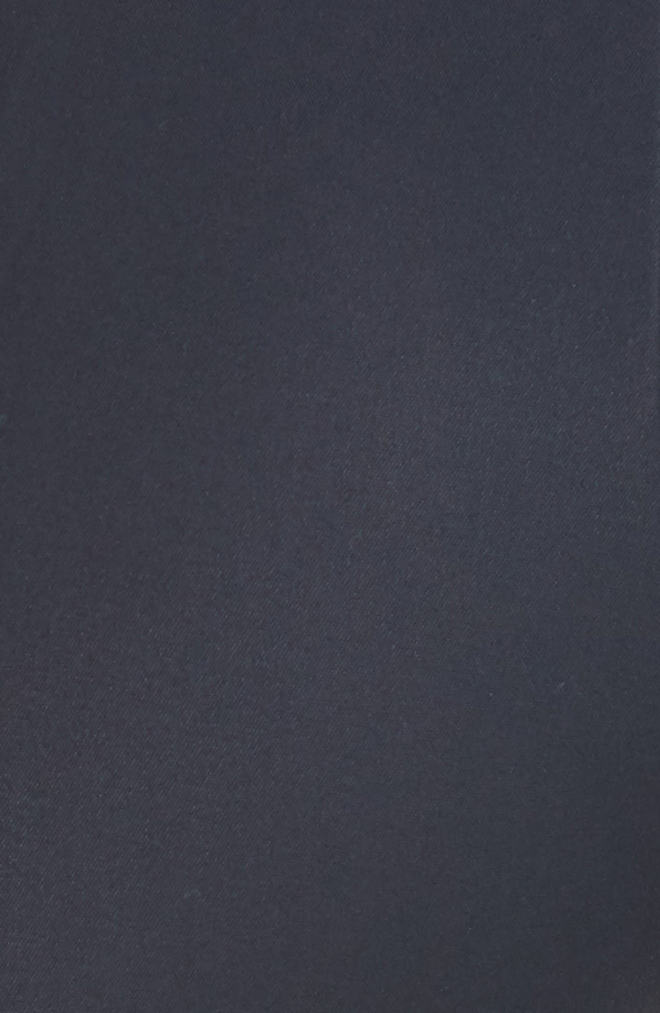 AKRIS, 'Melissa' Slim Techno Cotton Ankle Pants, Alternate thumbnail 7, color, NAVY