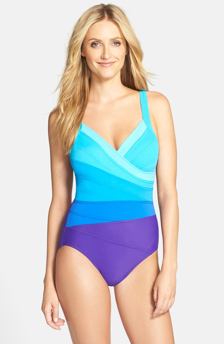 a03203ea83c Miraclesuit® 'Spectra Band-It' One-Piece Swimsuit | Nordstrom