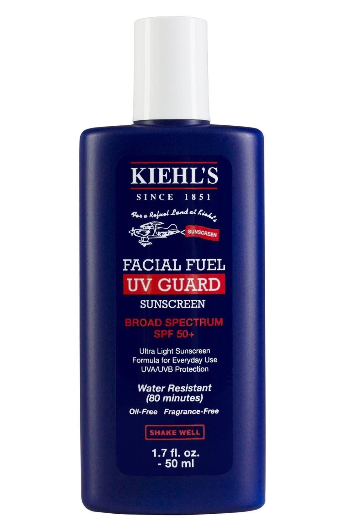 KIEHL'S SINCE 1851, 'Facial Fuel - UV Guard' Sunscreen SPF 50, Main thumbnail 1, color, 000