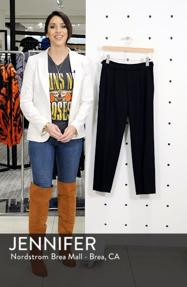 Cropped Pull-On Pants, sales video thumbnail