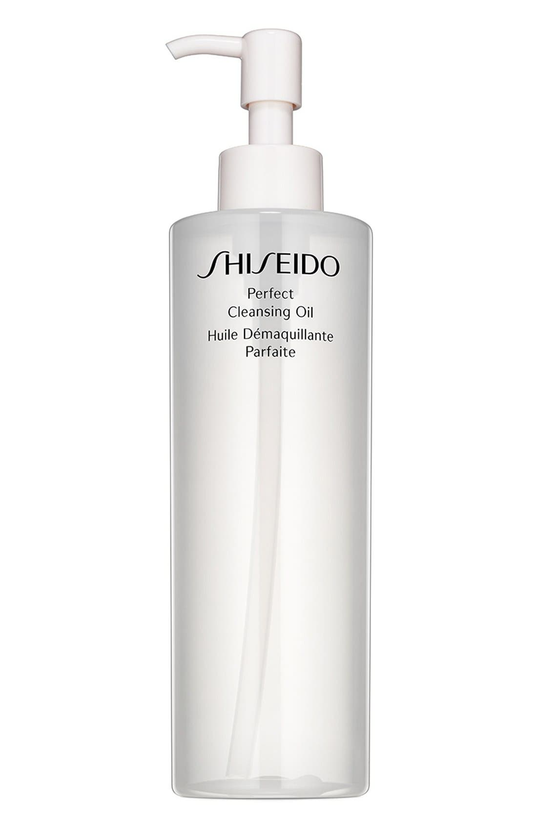 SHISEIDO, Perfect Cleansing Oil, Main thumbnail 1, color, NO COLOR