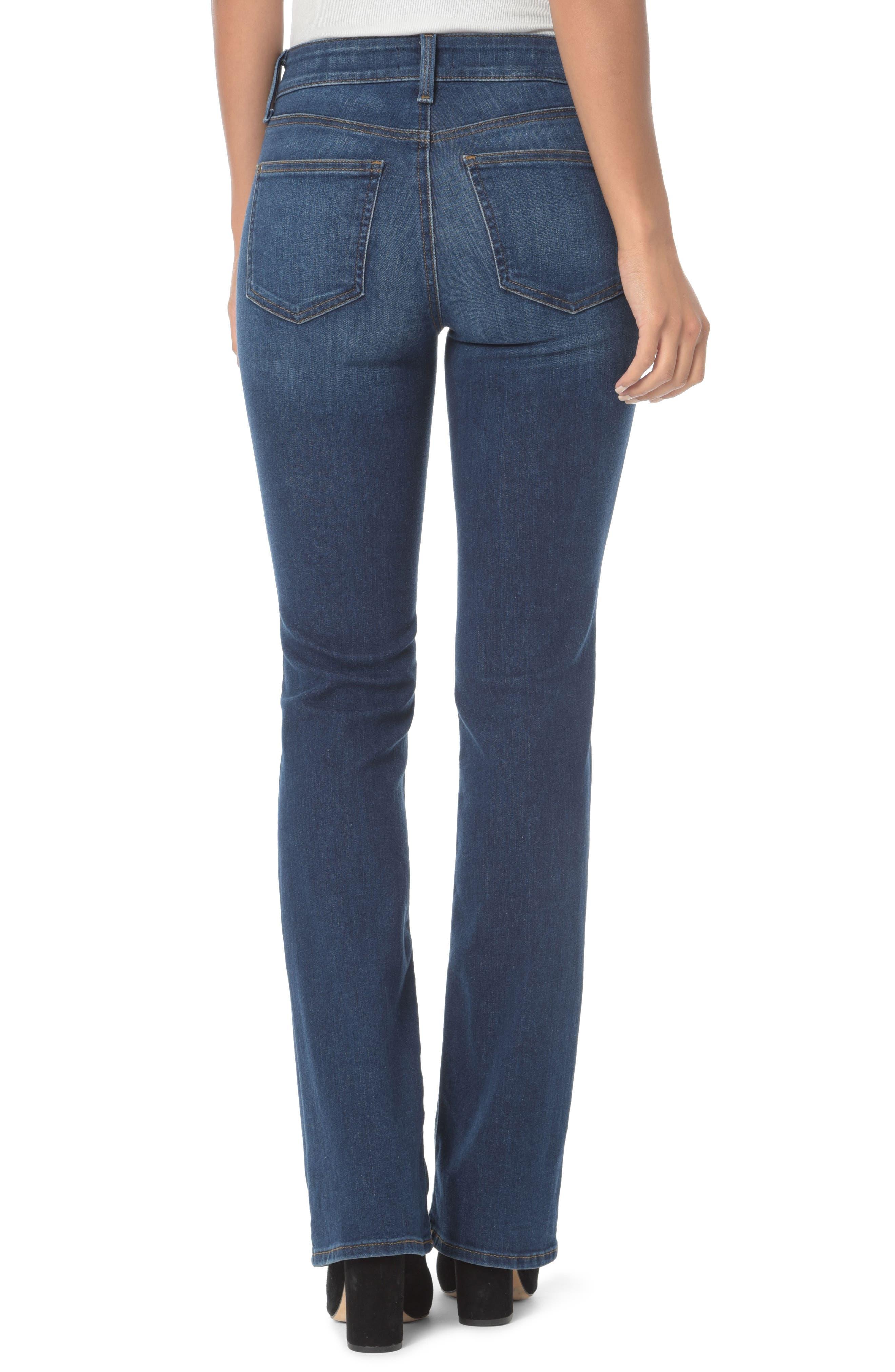 NYDJ, Barbara High Waist Stretch Bootcut Jeans, Alternate thumbnail 2, color, COOPER