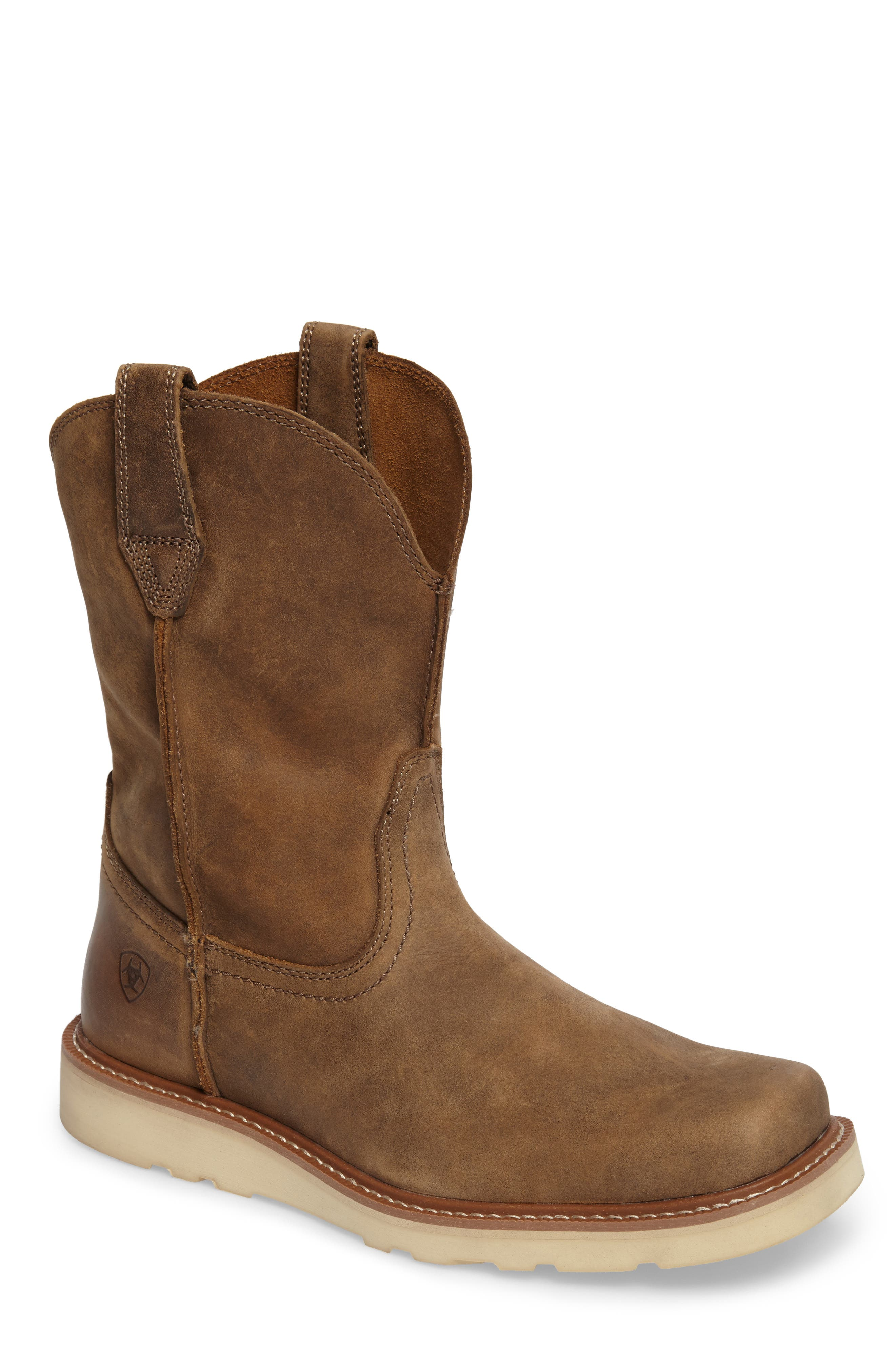 ARIAT Rambler Tall Boot, Main, color, BROWN BOMBER LEATHER