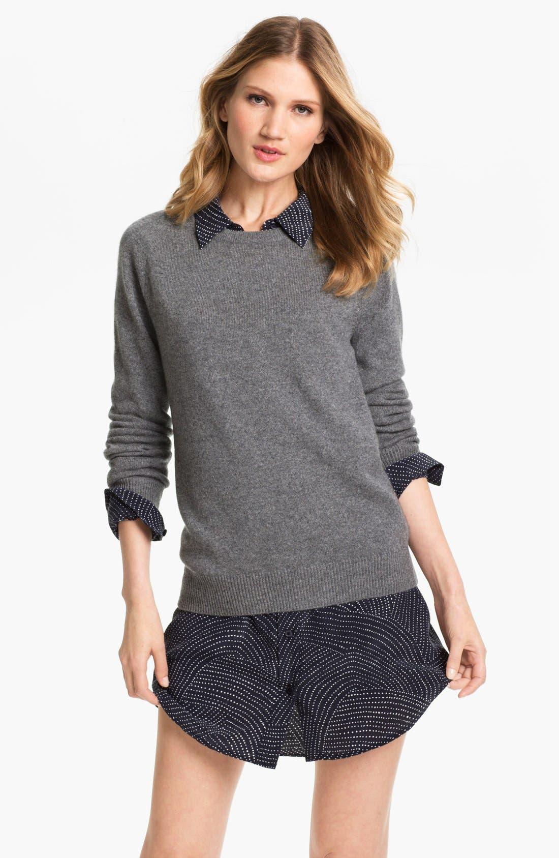 EQUIPMENT 'Sloane' Crewneck Cashmere Sweater, Main, color, 021