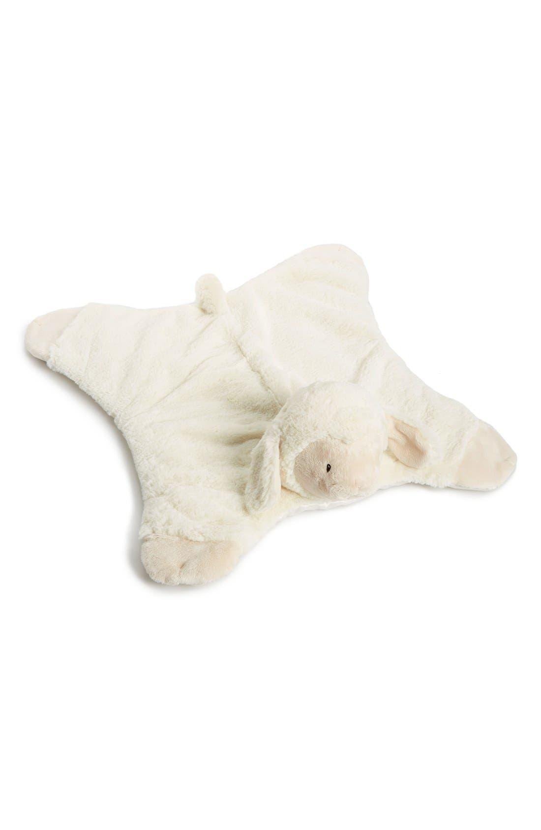 GUND, 'Comfy Cozy - Lopsy Lamb' Blanket, Main thumbnail 1, color, NEW LAMB