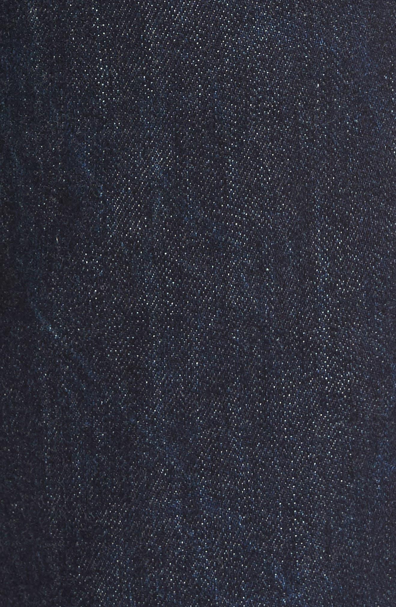RAG & BONE, Standard Issue Fit 3 Slim Straight Leg Jeans, Alternate thumbnail 6, color, HERITAGE