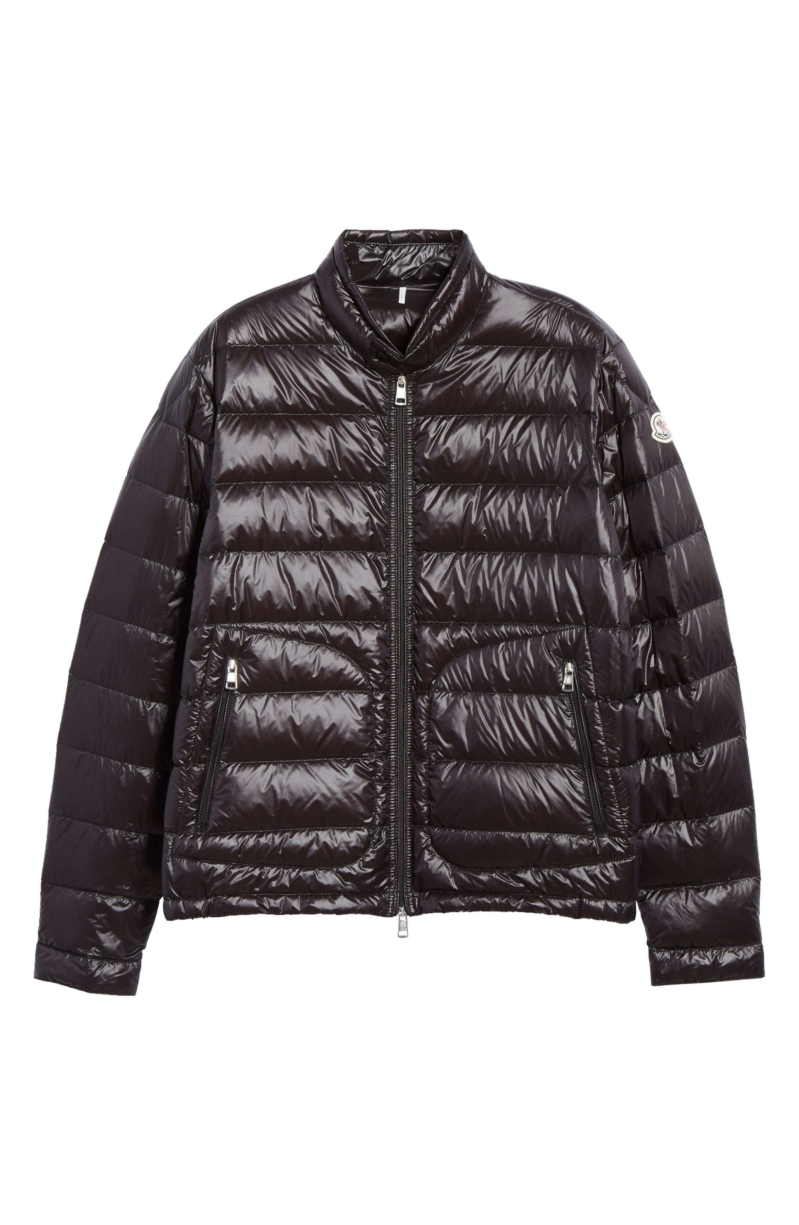 MONCLER, Acorus Down Jacket, Alternate thumbnail 5, color, BLACK
