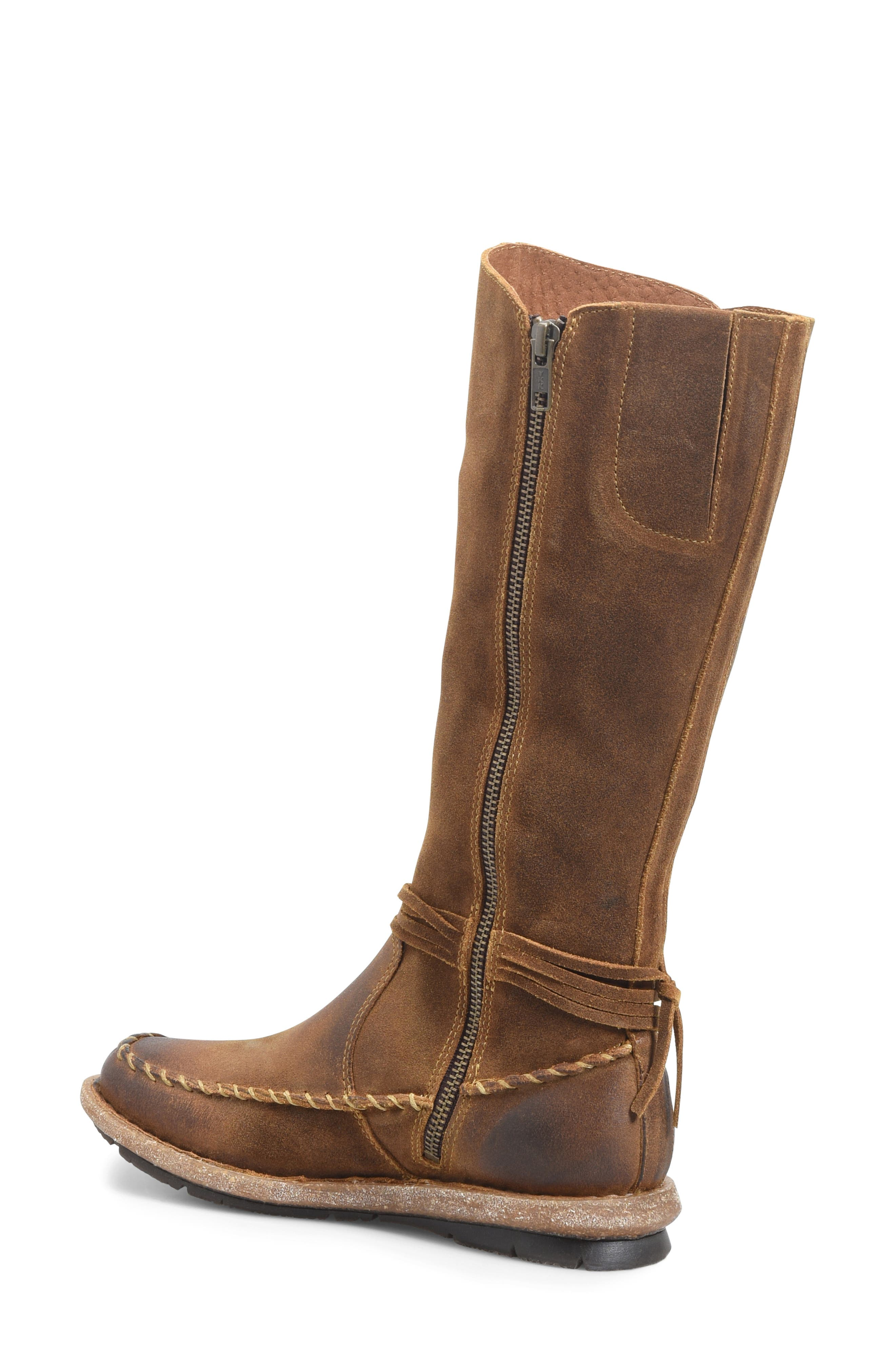 BØRN, Torrey Boot, Alternate thumbnail 2, color, RUST DISTRESSED LEATHER