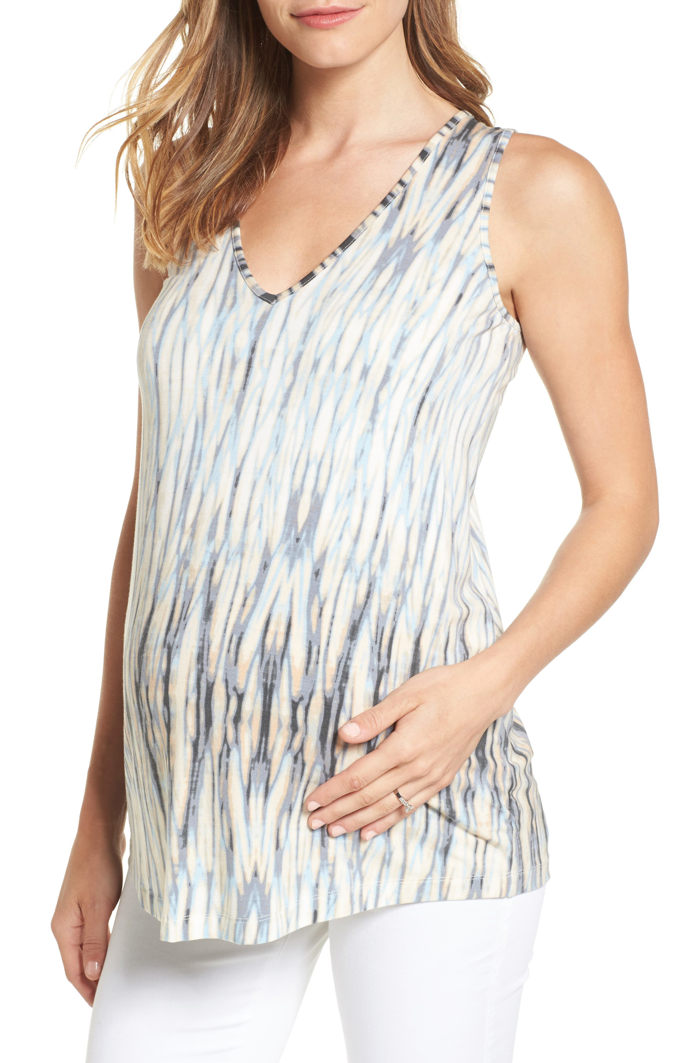 TART MATERNITY Tart Annora Print Maternity Top, Main, color, WATER REFLECTIONS