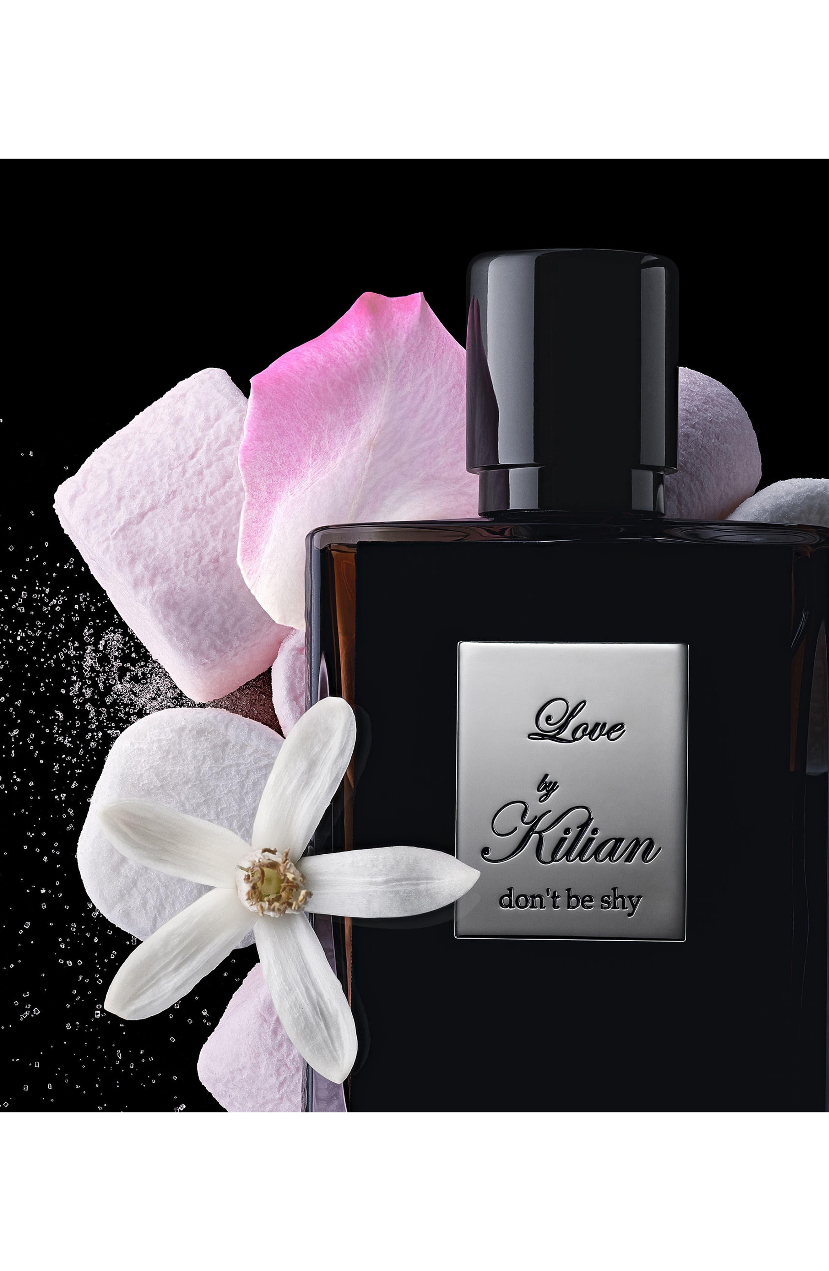 KILIAN, 'L'Oeuvre Noire - Love, don't be shy' Refillable Fragrance Spray, Alternate thumbnail 3, color, NO COLOR